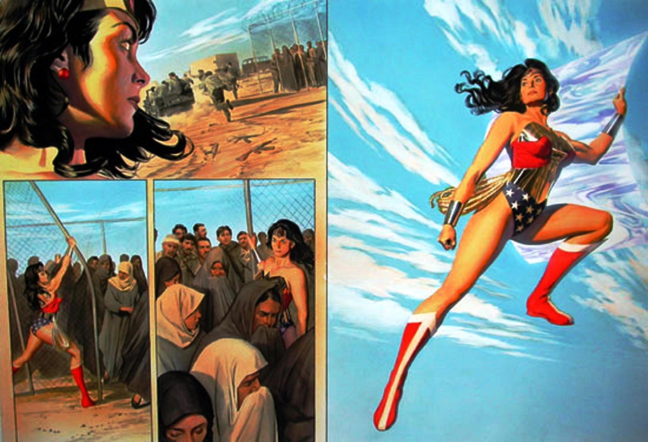 Read online Wonder Woman: Spirit of Truth comic -  Issue # Full - 69