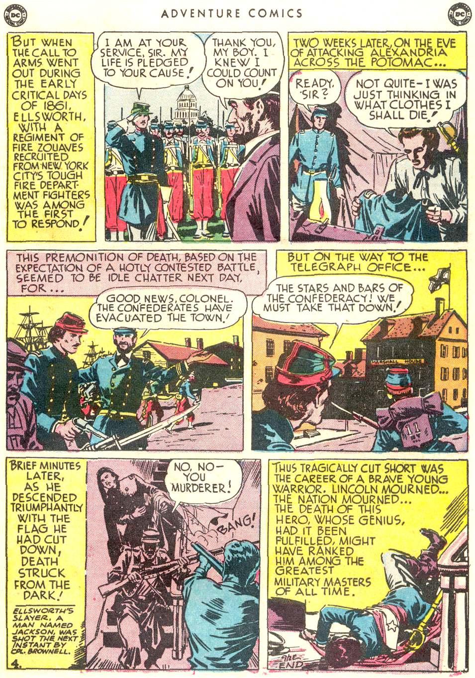 Read online Adventure Comics (1938) comic -  Issue #156 - 35