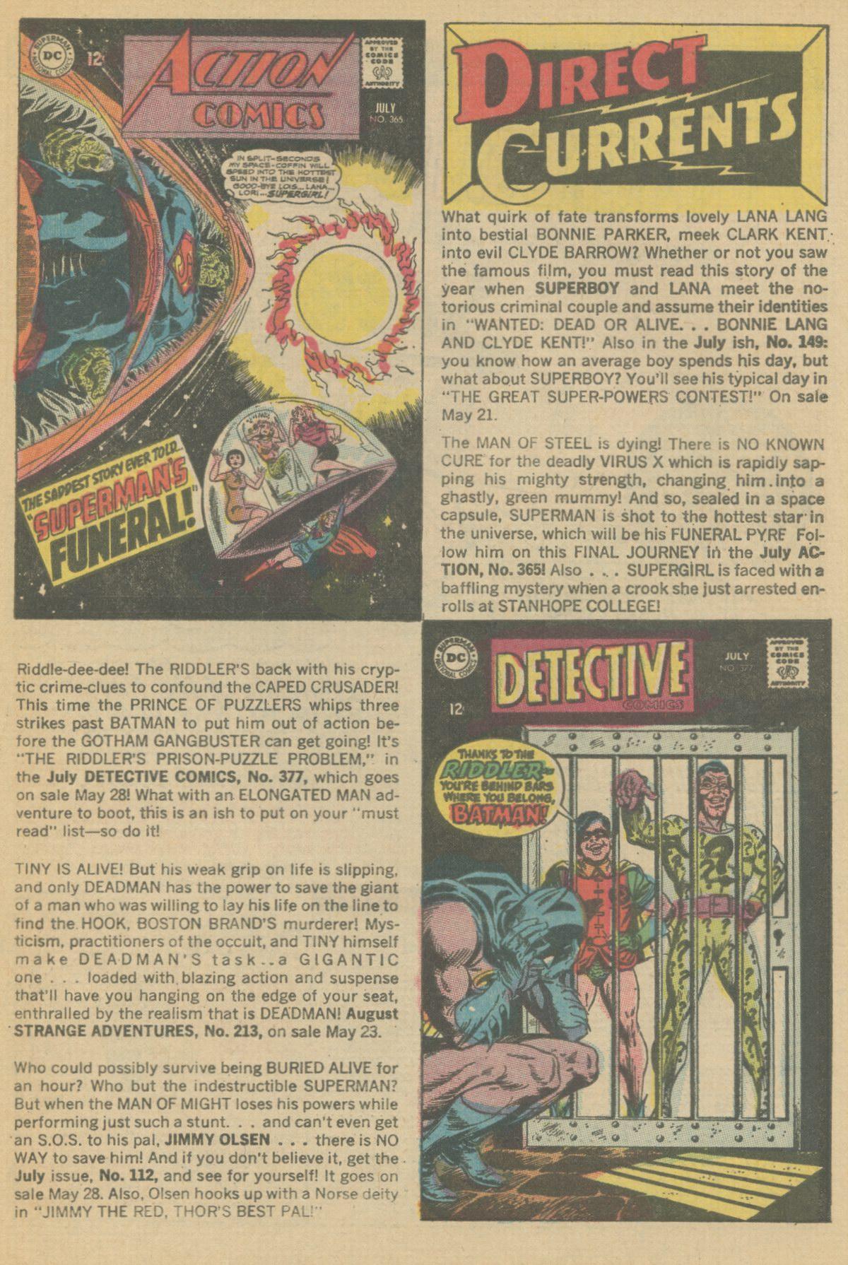 Read online Adventure Comics (1938) comic -  Issue #370 - 33