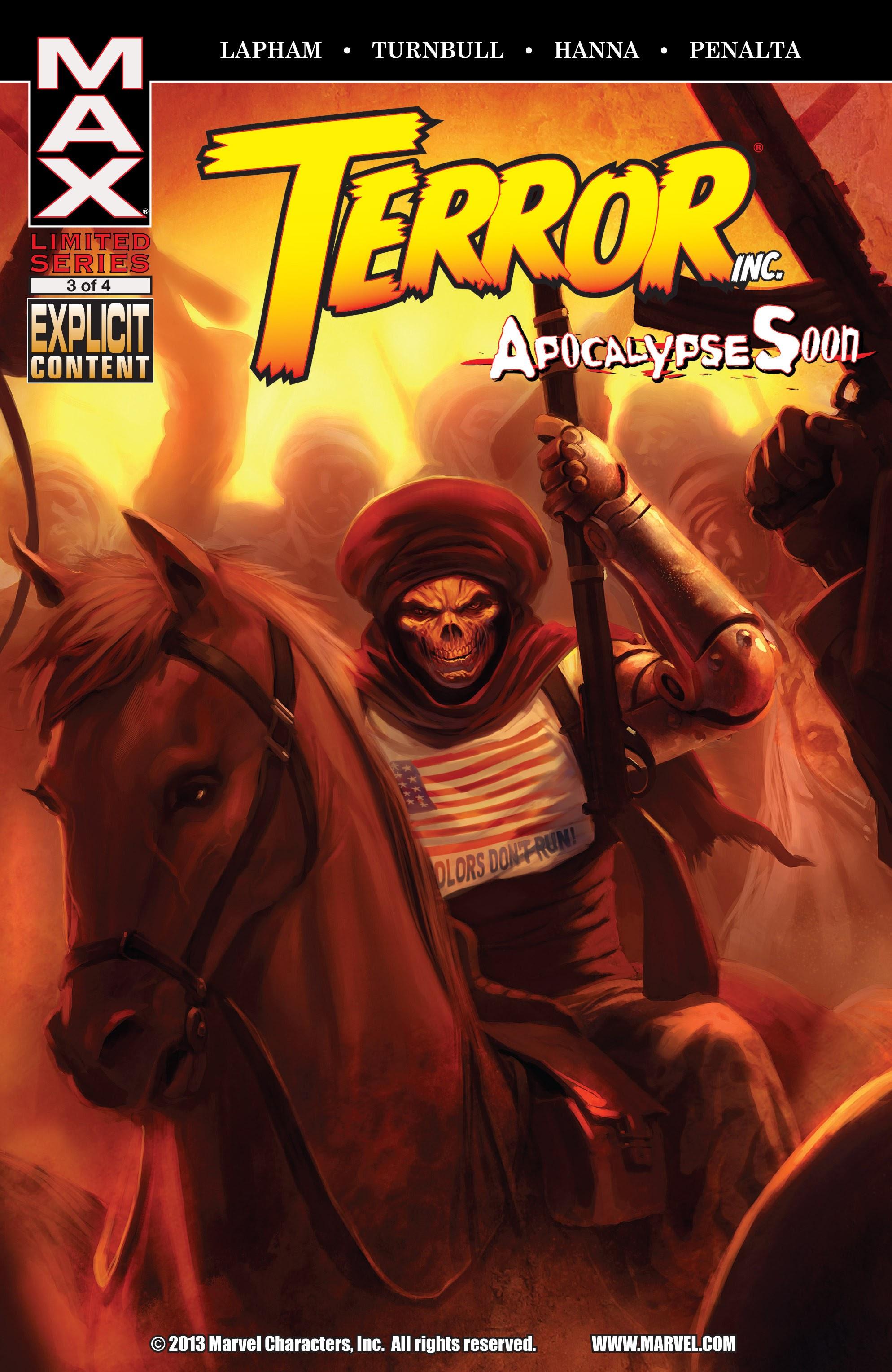 Terror, Inc. - Apocalypse Soon 3 Page 1