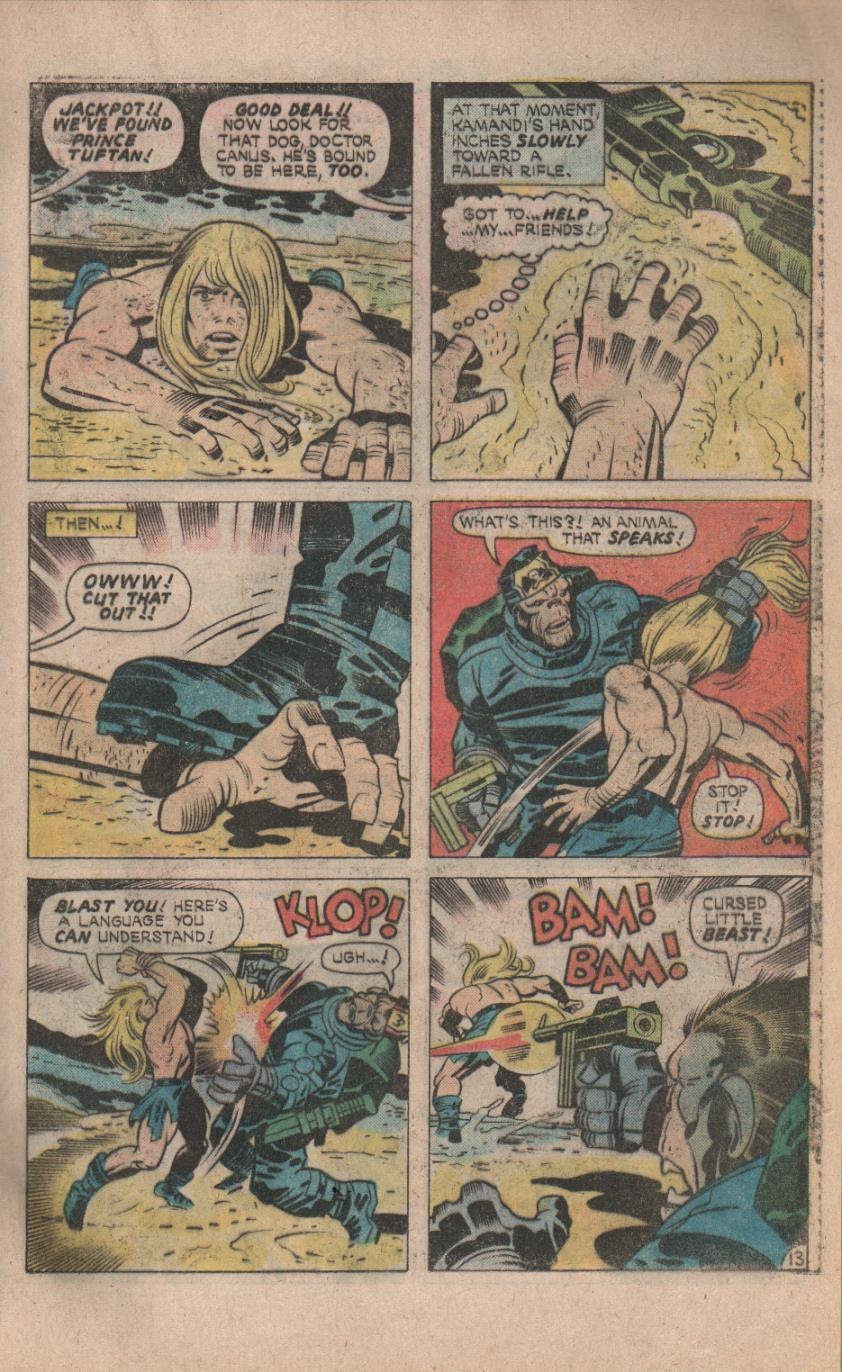 Kamandi, The Last Boy On Earth issue 32 - Page 15