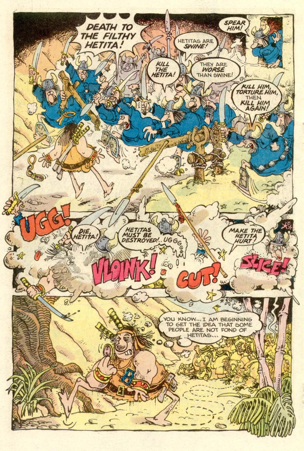 Read online Sergio Aragonés Groo the Wanderer comic -  Issue #3 - 12