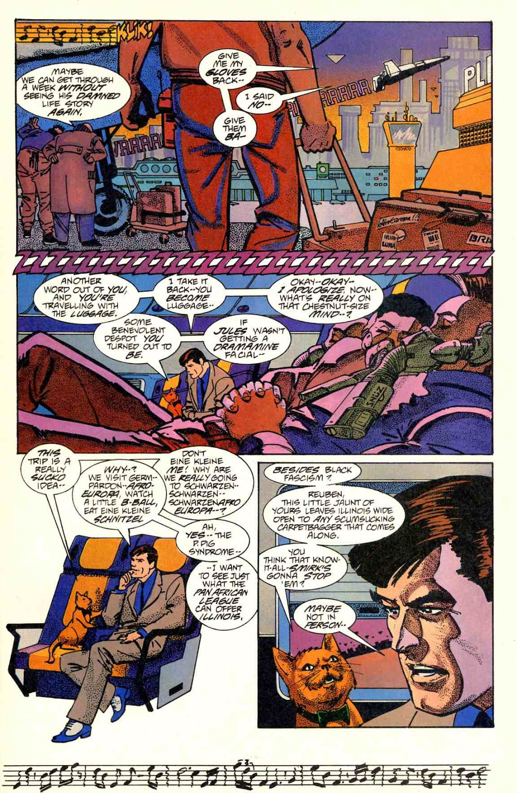 Howard Chaykin's American Flagg issue 2 - Page 5