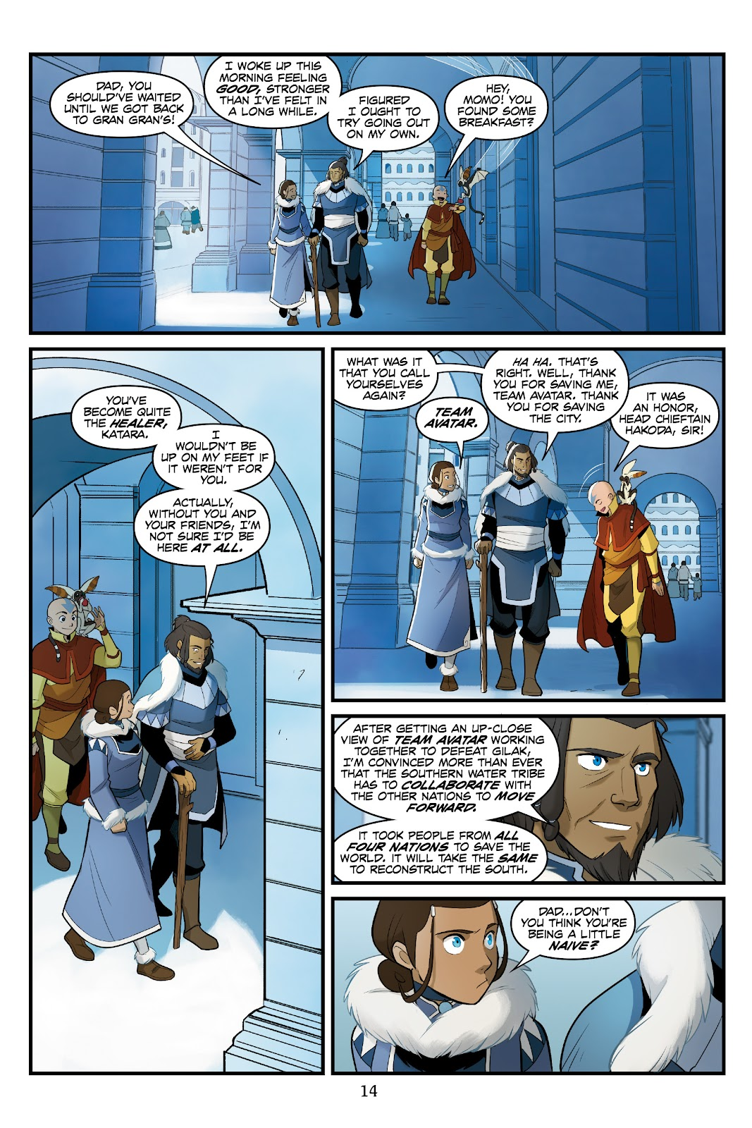 Nickelodeon Avatar: The Last Airbender - North and South issue 3 - Page 15