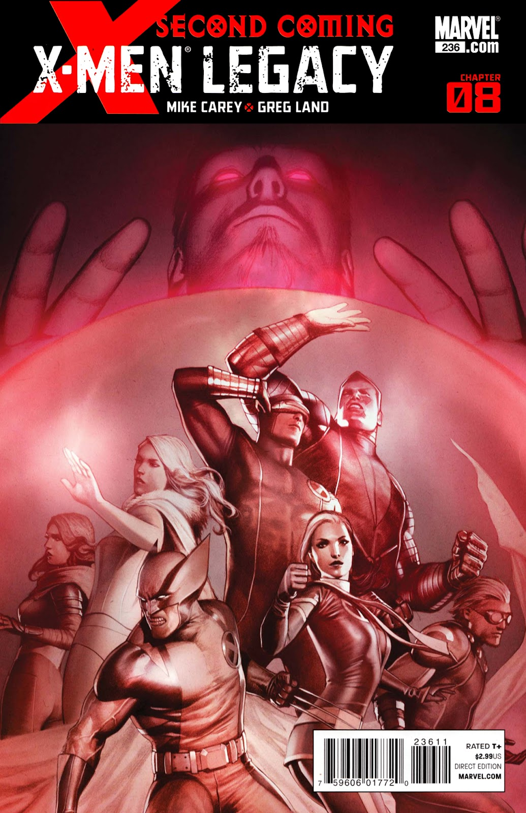 X-Men Legacy (2008) 236 Page 1