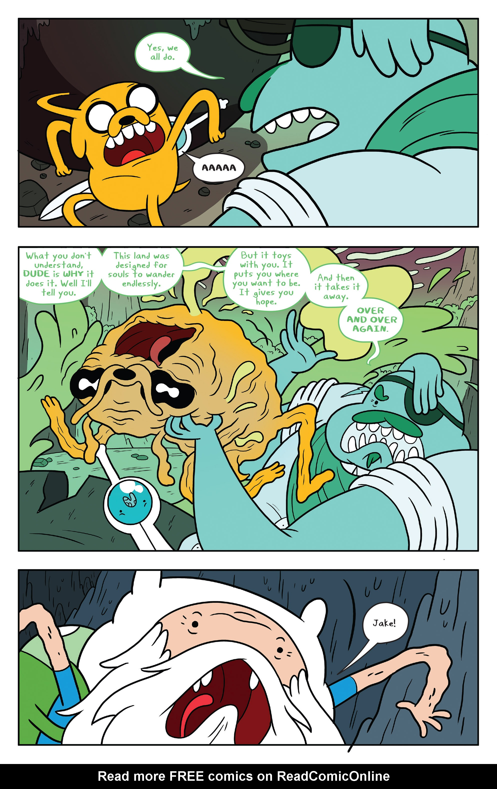 Read online Adventure Time comic -  Issue #53 - 20