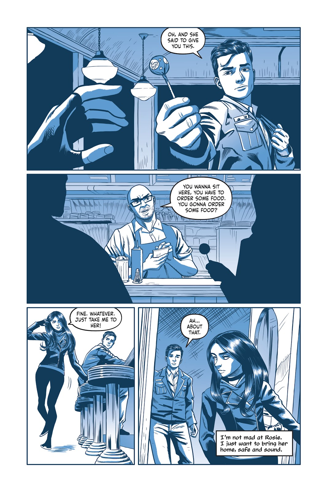 Read online Under the Moon: A Catwoman Tale comic -  Issue # TPB (Part 2) - 64