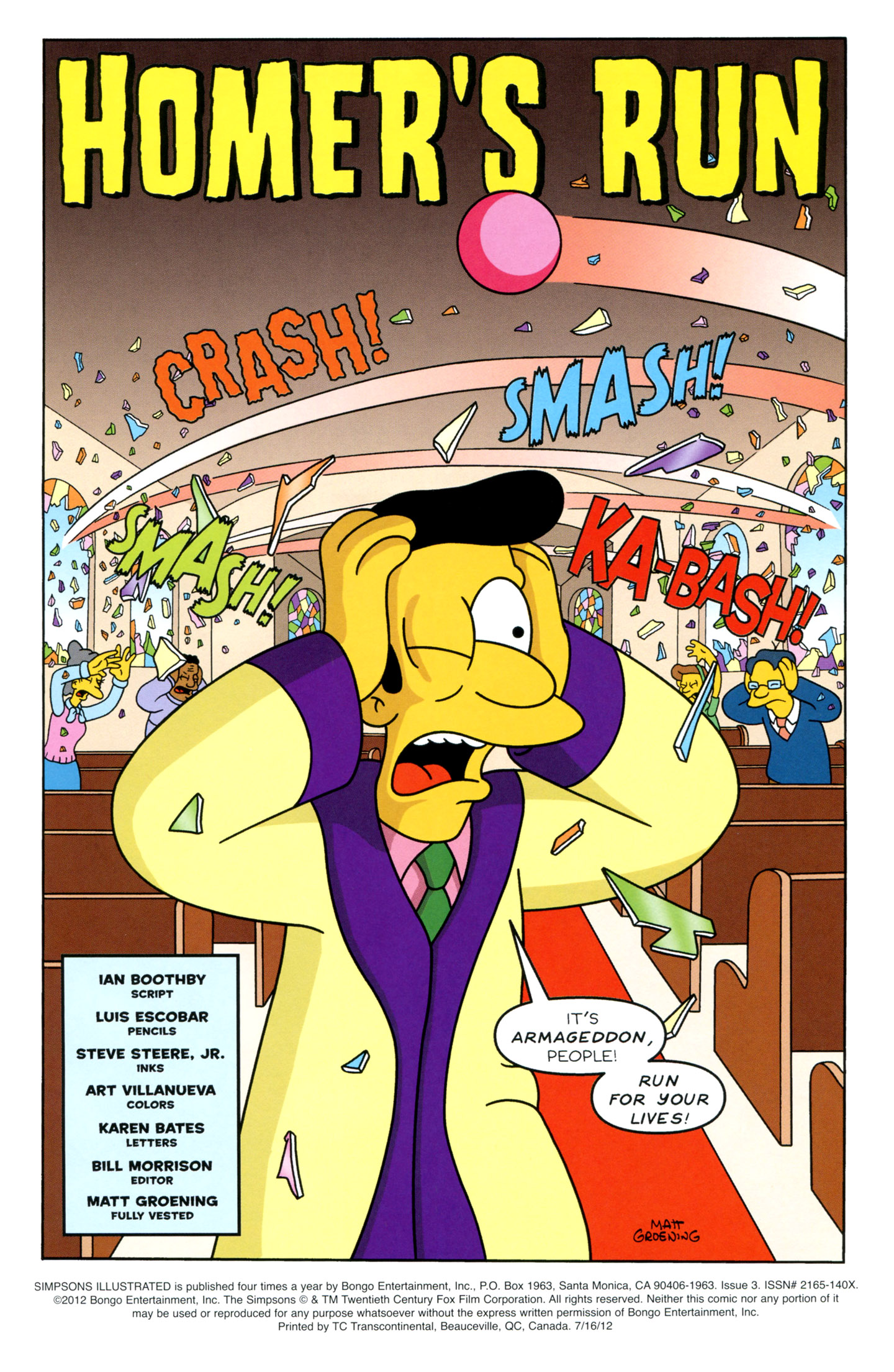 Read online Simpsons Illustrated (1991) comic -  Issue #3 - 3