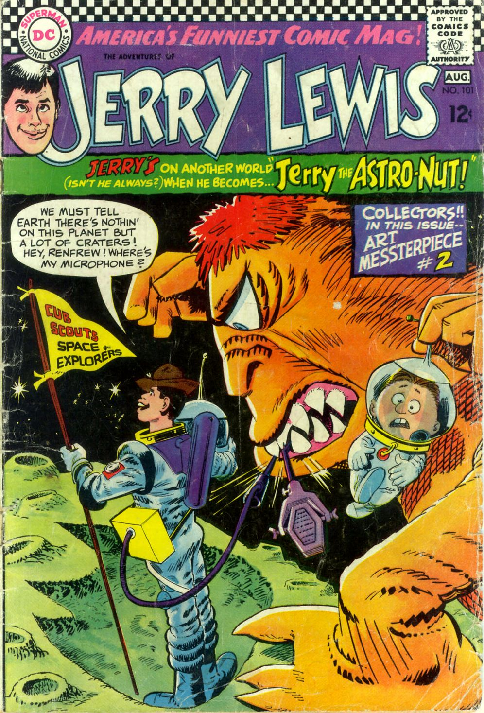 The Adventures of Jerry Lewis 101 Page 1