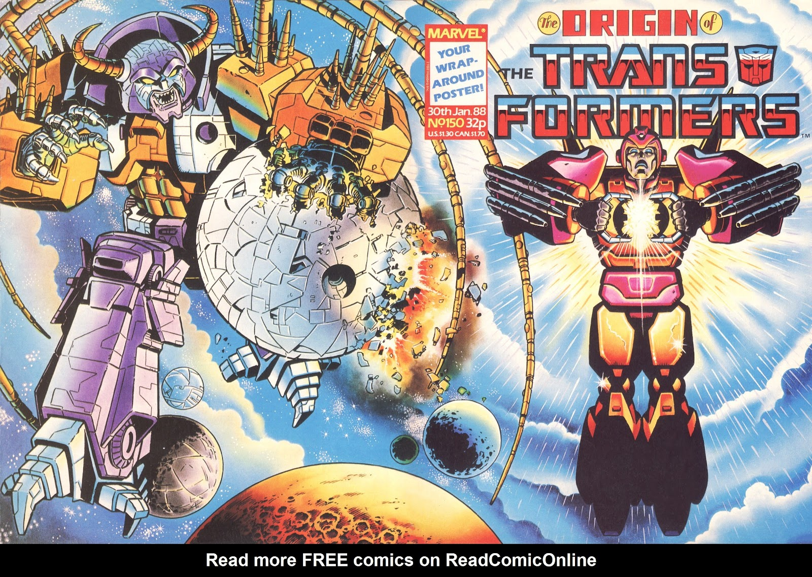 The Transformers (UK) 150 Page 1