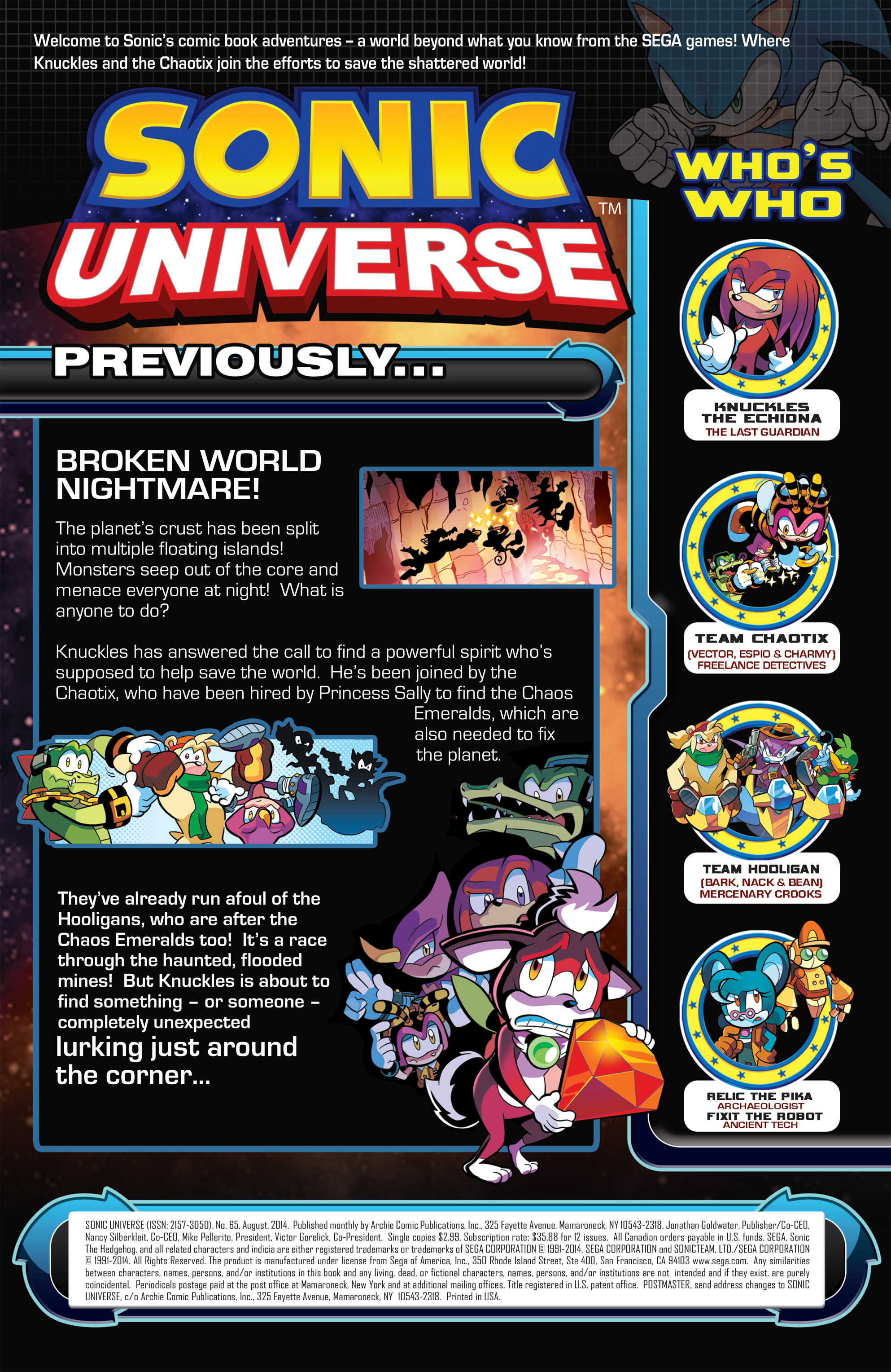 Read online Sonic Universe comic -  Issue #65 - 2
