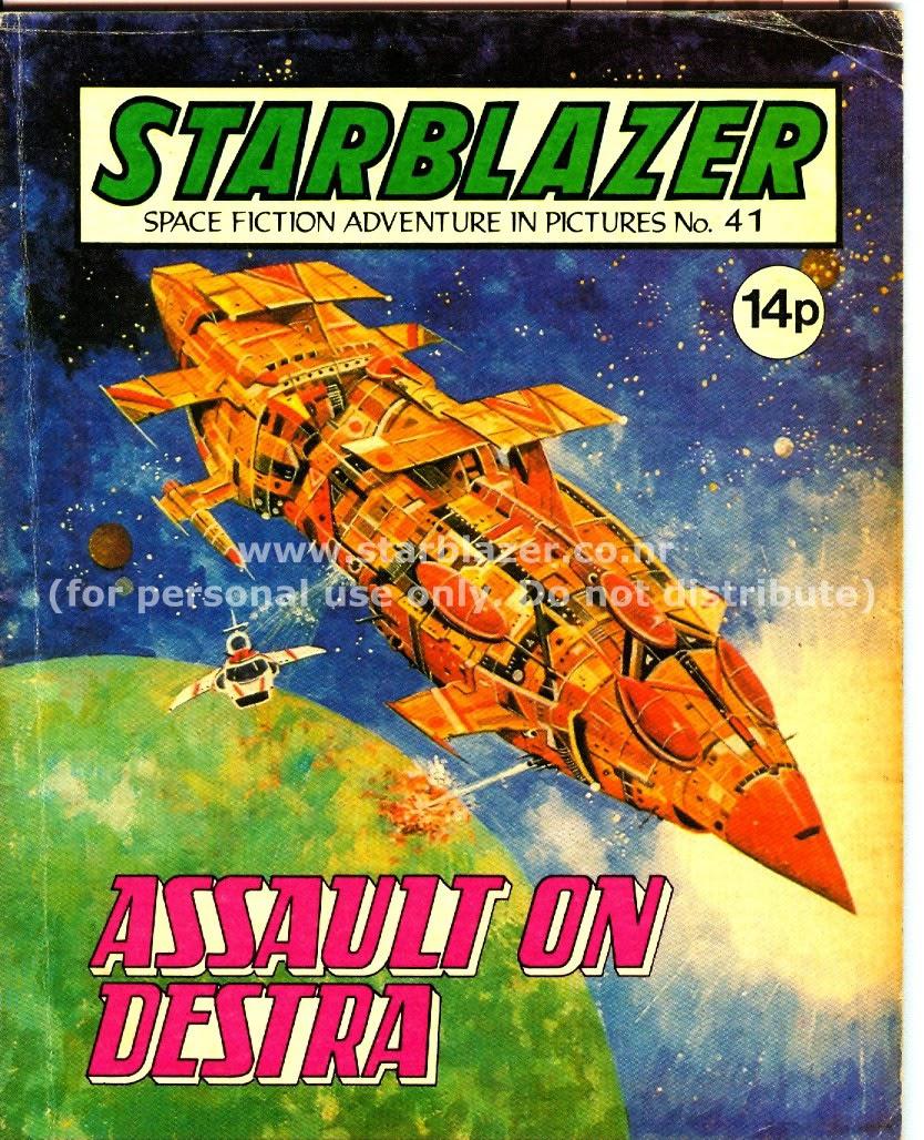 Starblazer issue 41 - Page 1