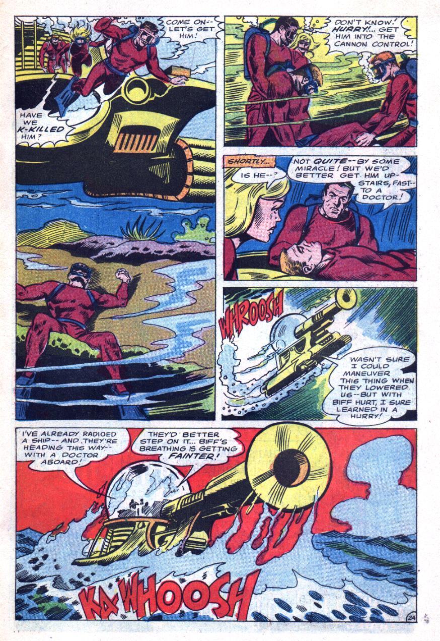 Read online Sea Devils comic -  Issue #31 - 32