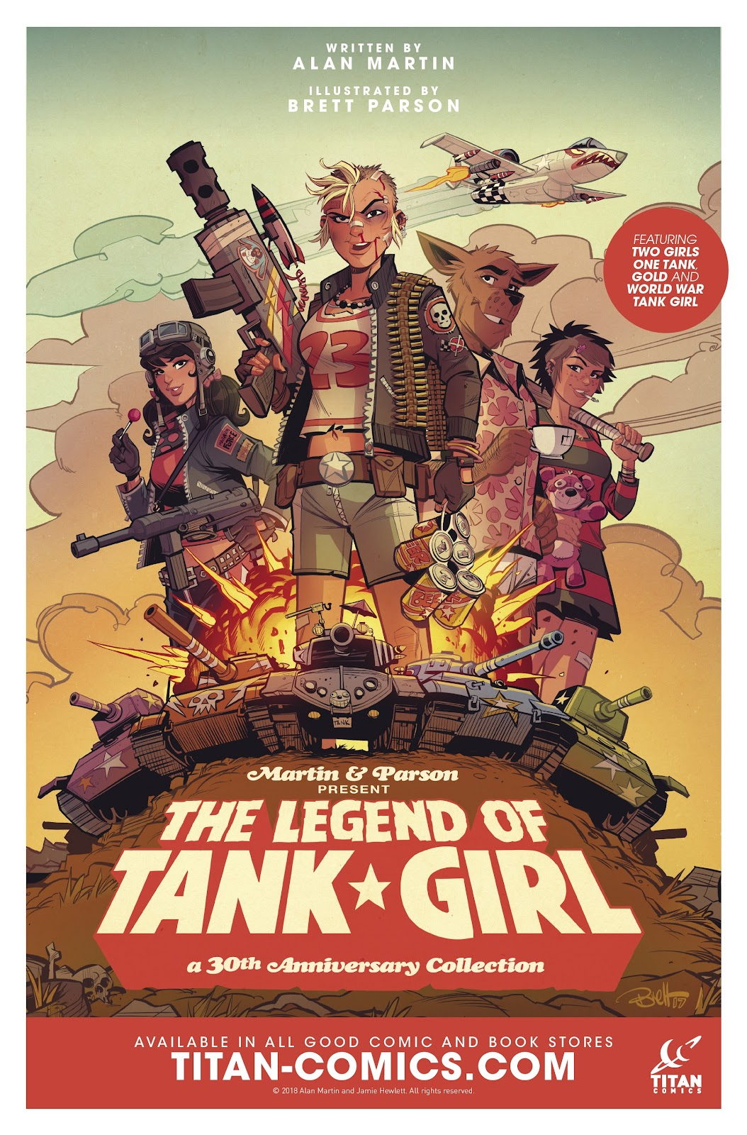 Read online Tank Girl Ongoing comic -  Issue #2 - 26