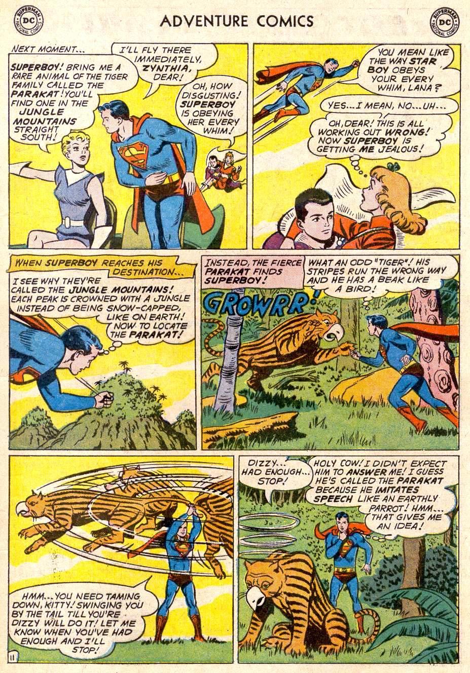 Read online Adventure Comics (1938) comic -  Issue #282 - 13