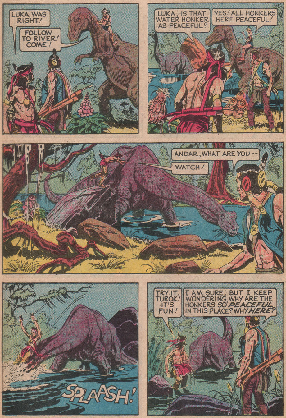 Read online Turok, Son of Stone comic -  Issue #116 - 26