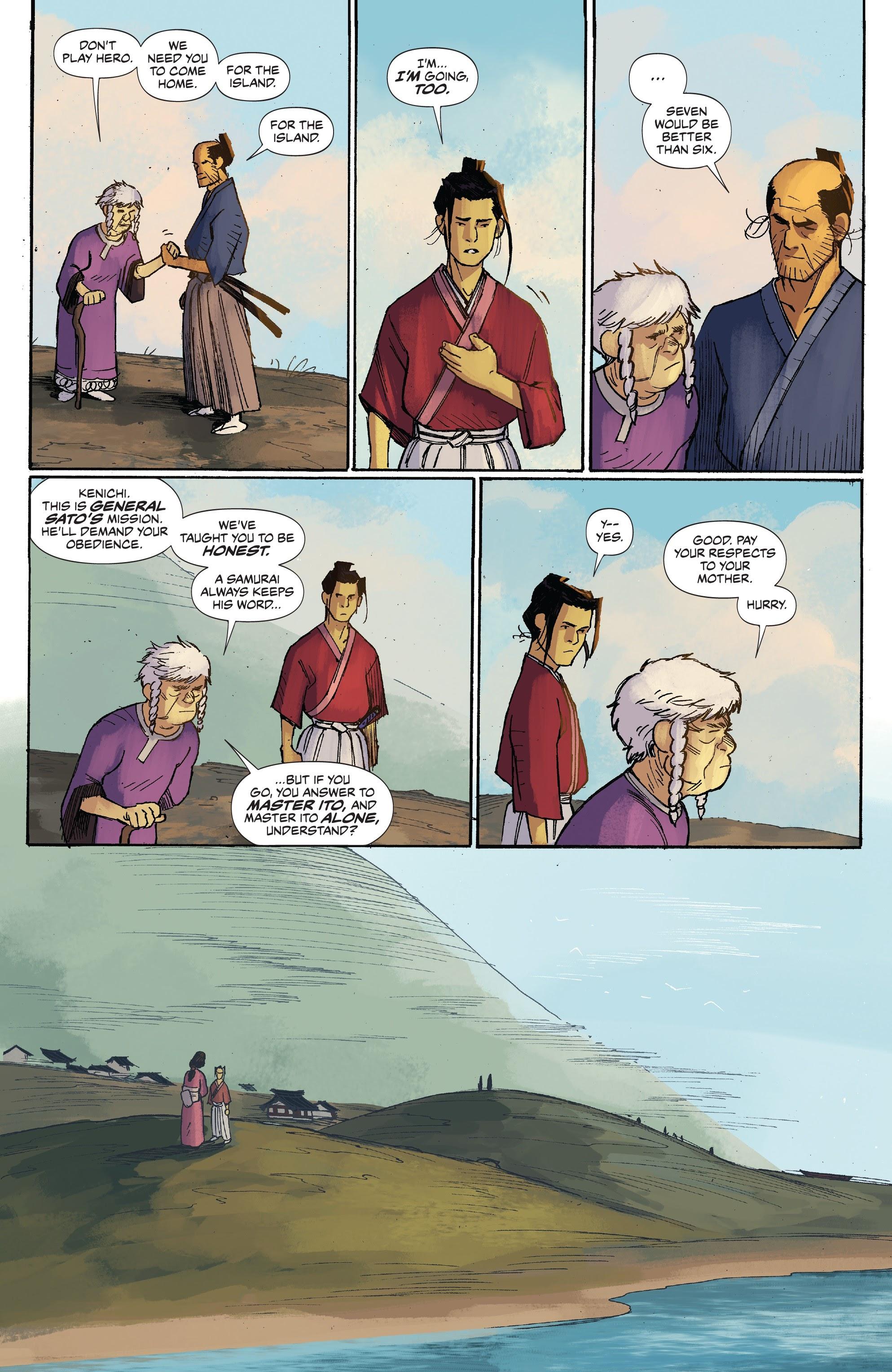 Read online Ronin Island comic -  Issue #3 - 7