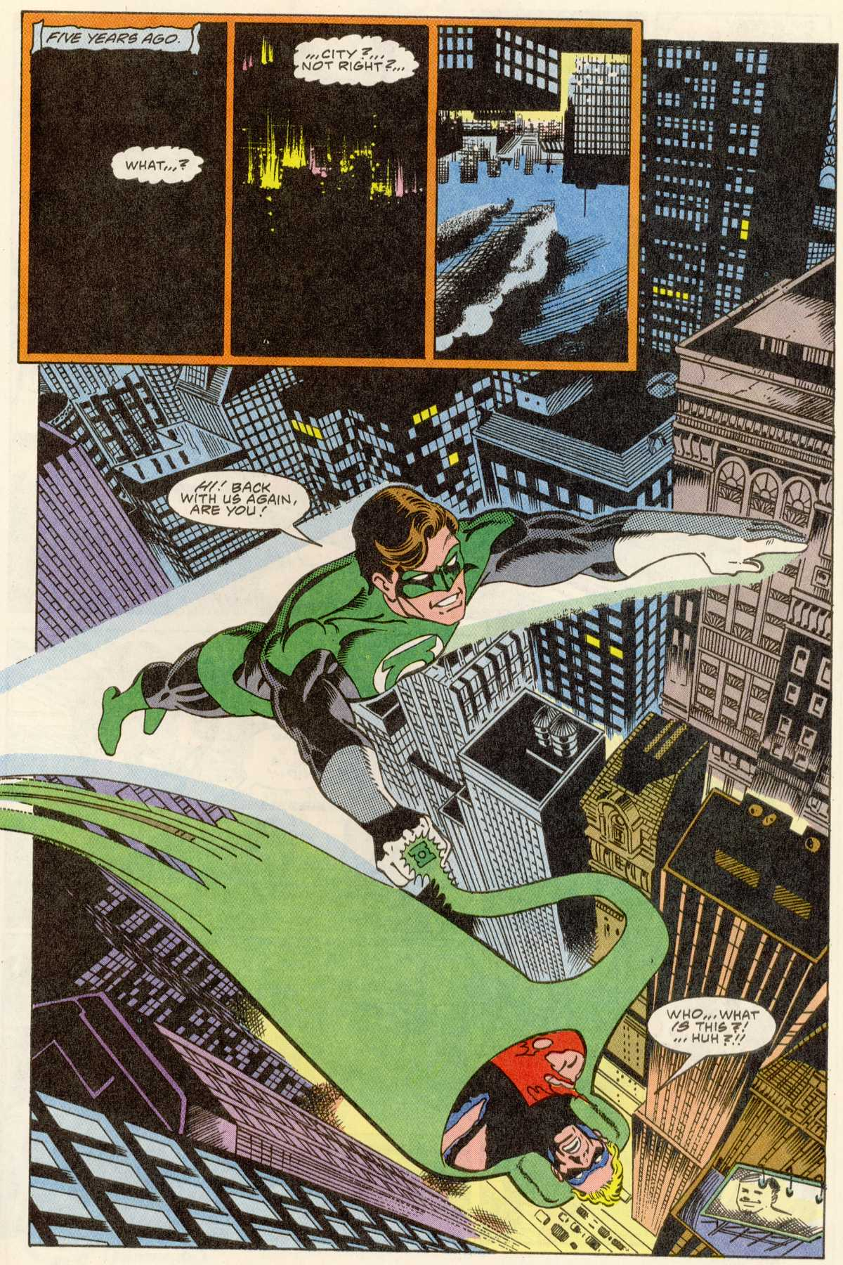 Read online Peter Cannon--Thunderbolt (1992) comic -  Issue #1 - 8