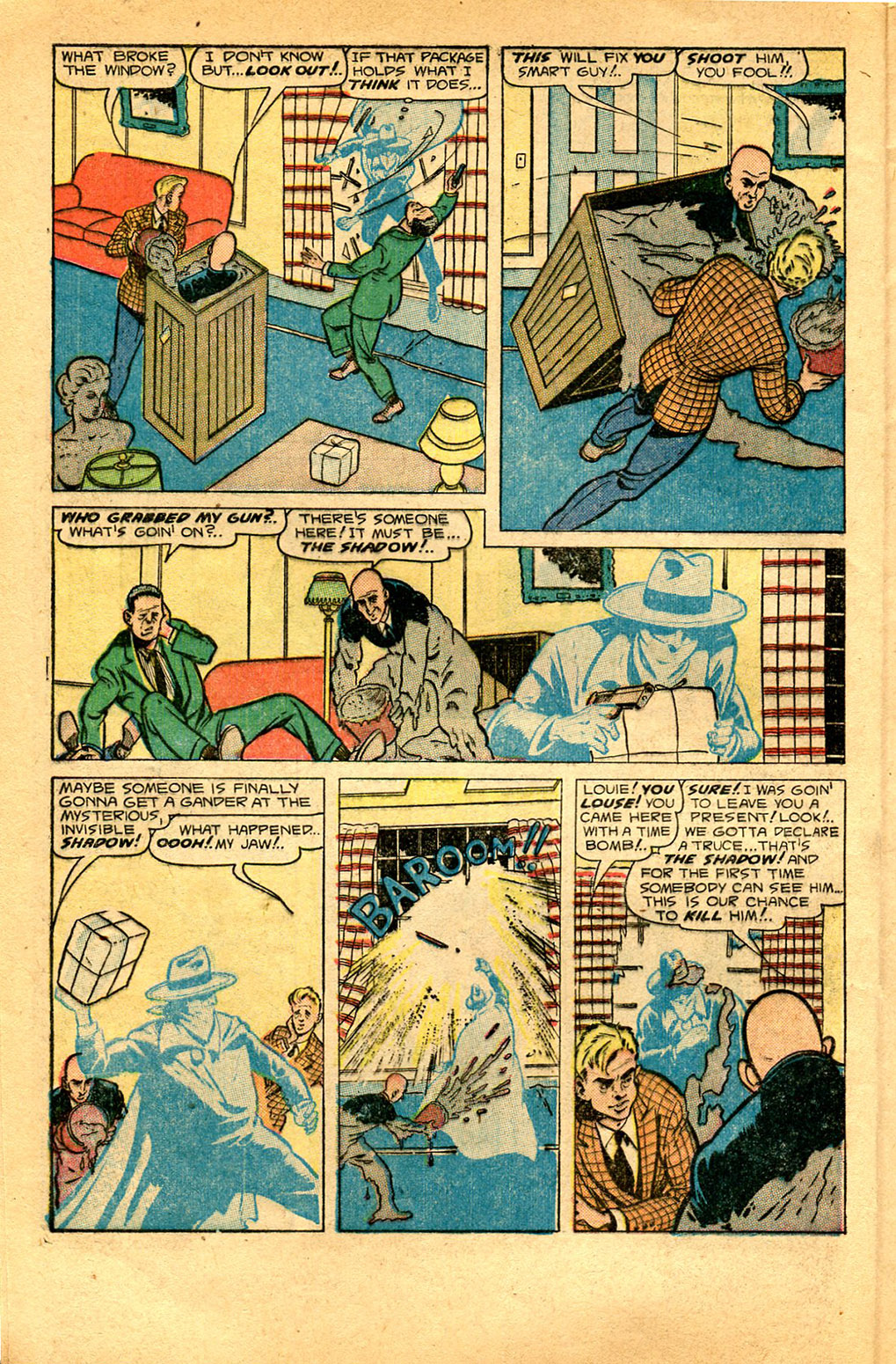 Read online Shadow Comics comic -  Issue #97 - 8