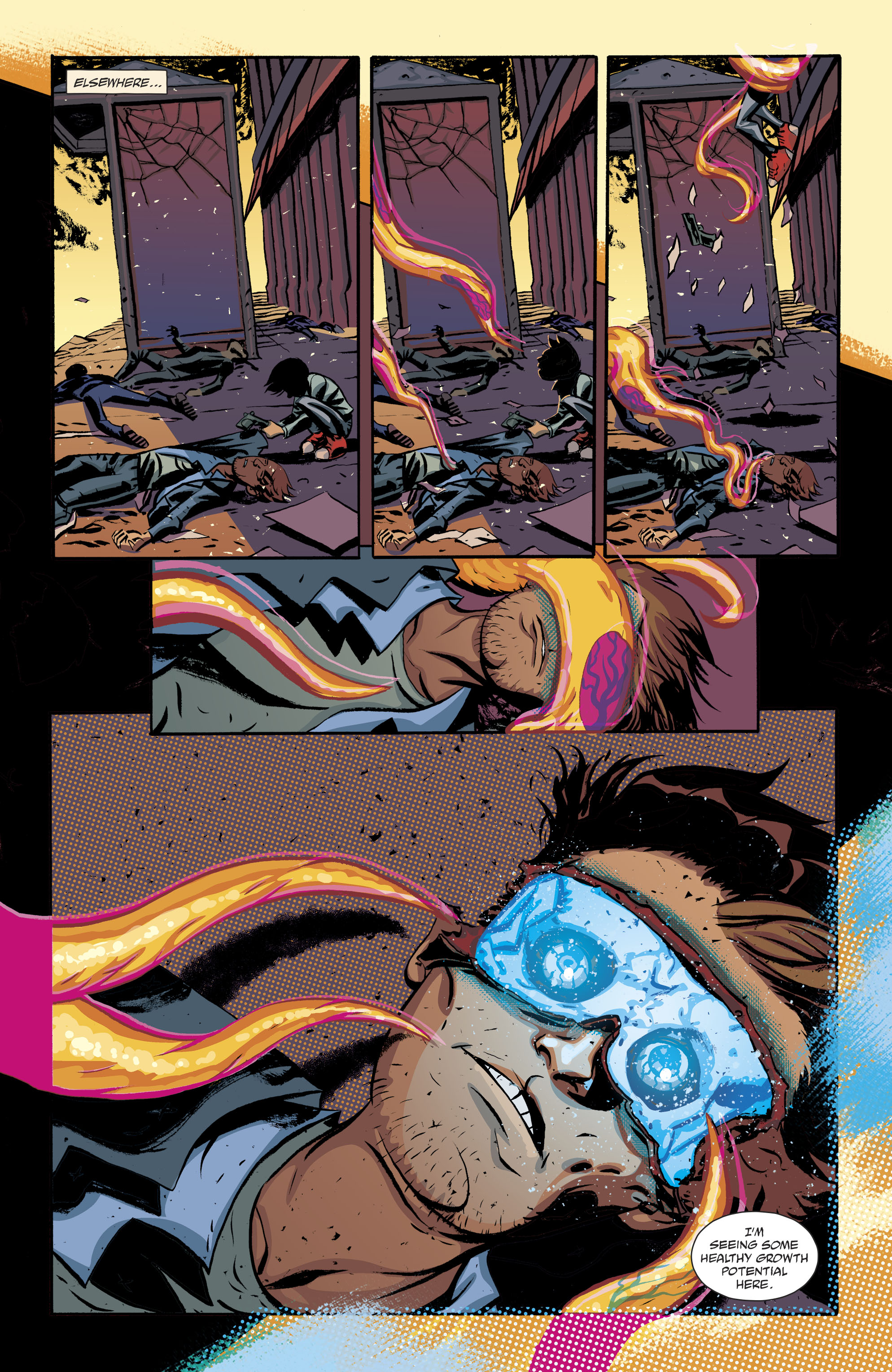 Read online Cave Carson Has a Cybernetic Eye comic -  Issue #8 - 7