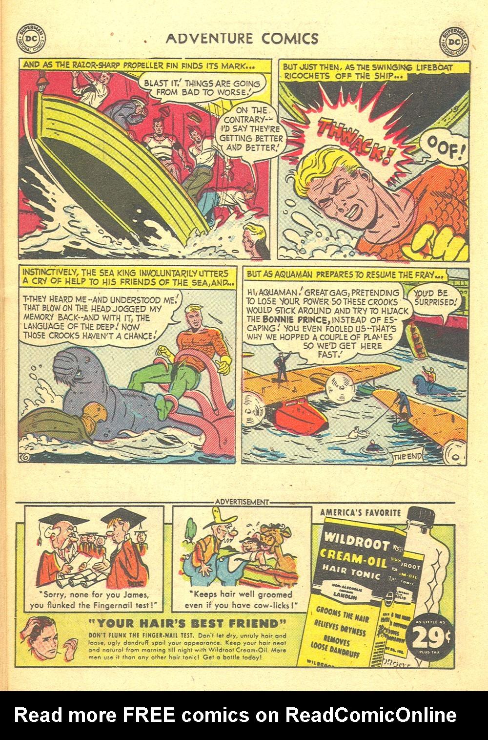 Read online Adventure Comics (1938) comic -  Issue #176 - 22