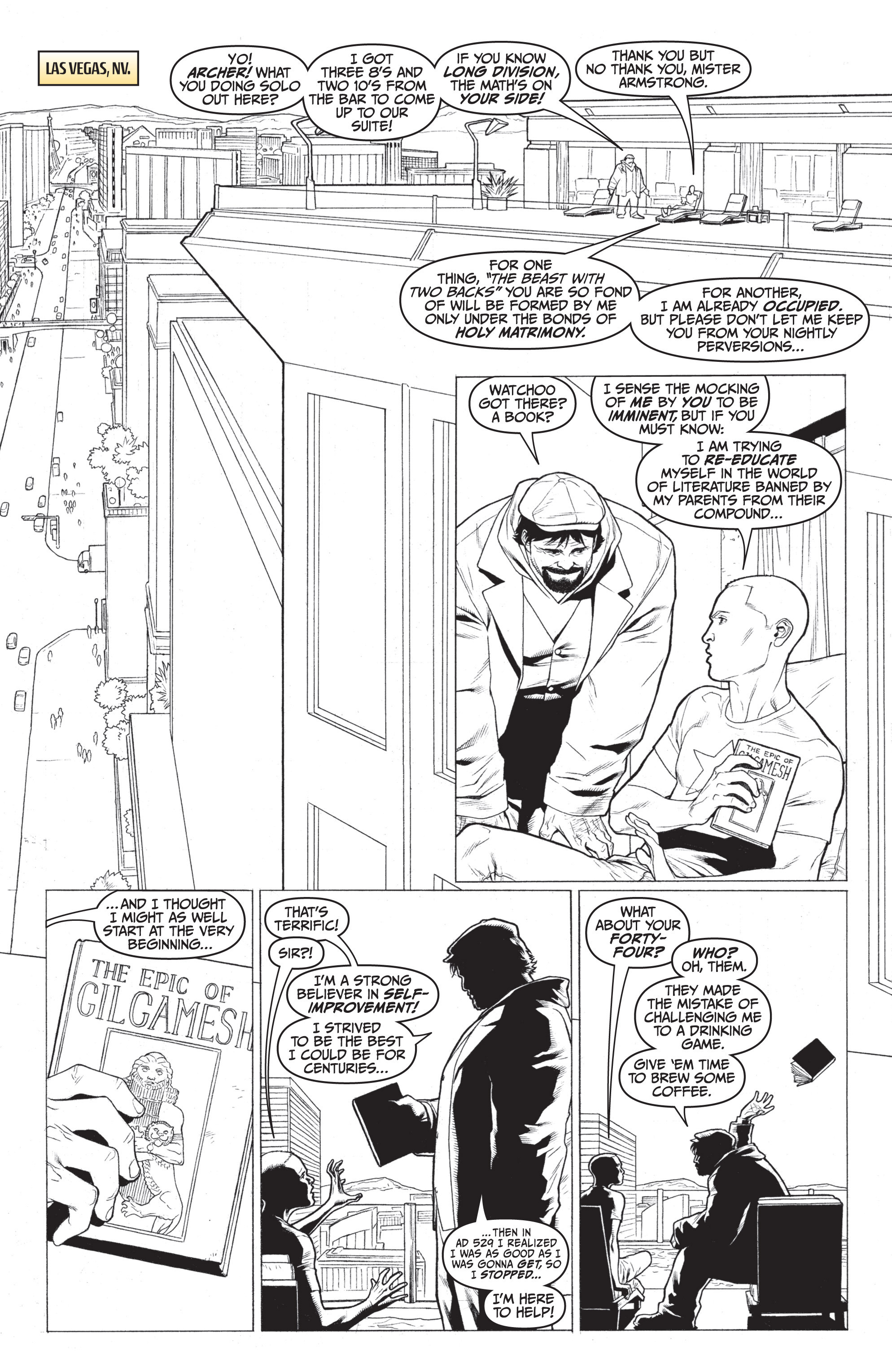 Read online Archer and Armstrong comic -  Issue #Archer and Armstrong _TPB 7 - 78