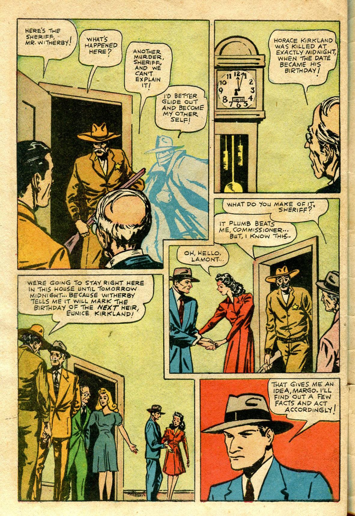 Read online Shadow Comics comic -  Issue #65 - 46