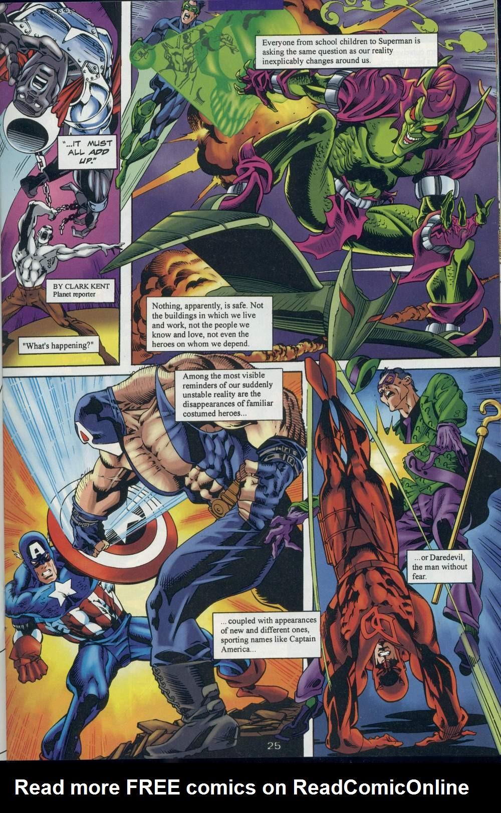 Read online DC Versus Marvel Comics comic -  Issue #1 - 27