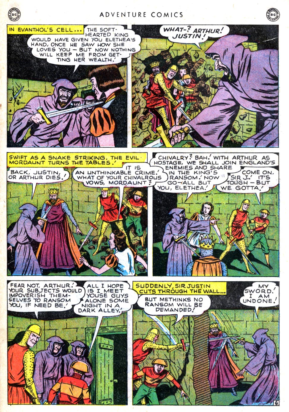 Read online Adventure Comics (1938) comic -  Issue #137 - 35