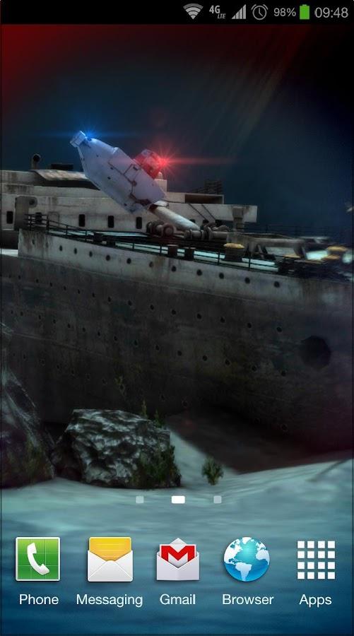 Titanic 3D Pro live wallpaper - v1.0 APK | Free Download Wallpaper | DaWallpaperz
