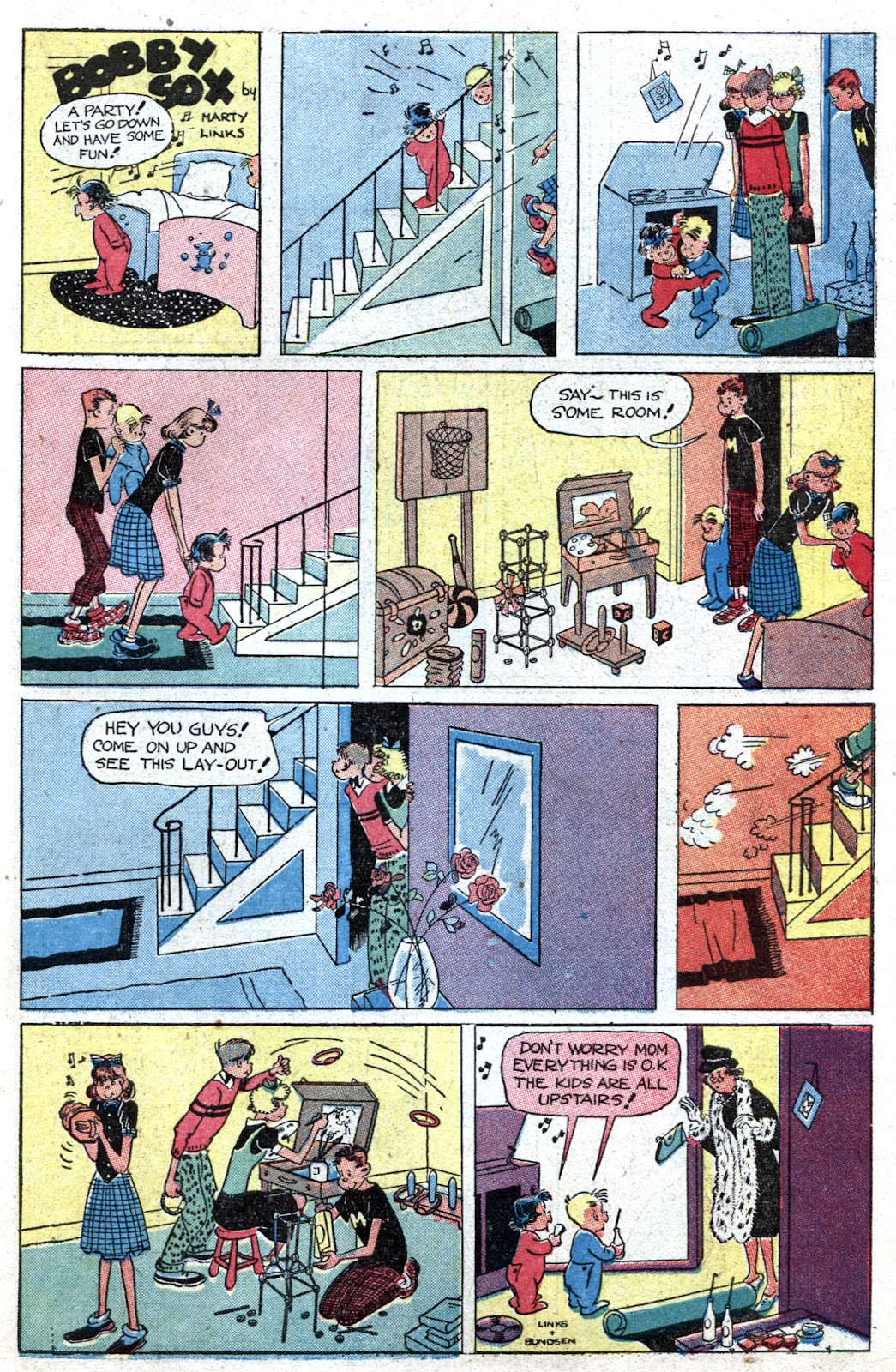 Read online Famous Funnies comic -  Issue #164 - 39