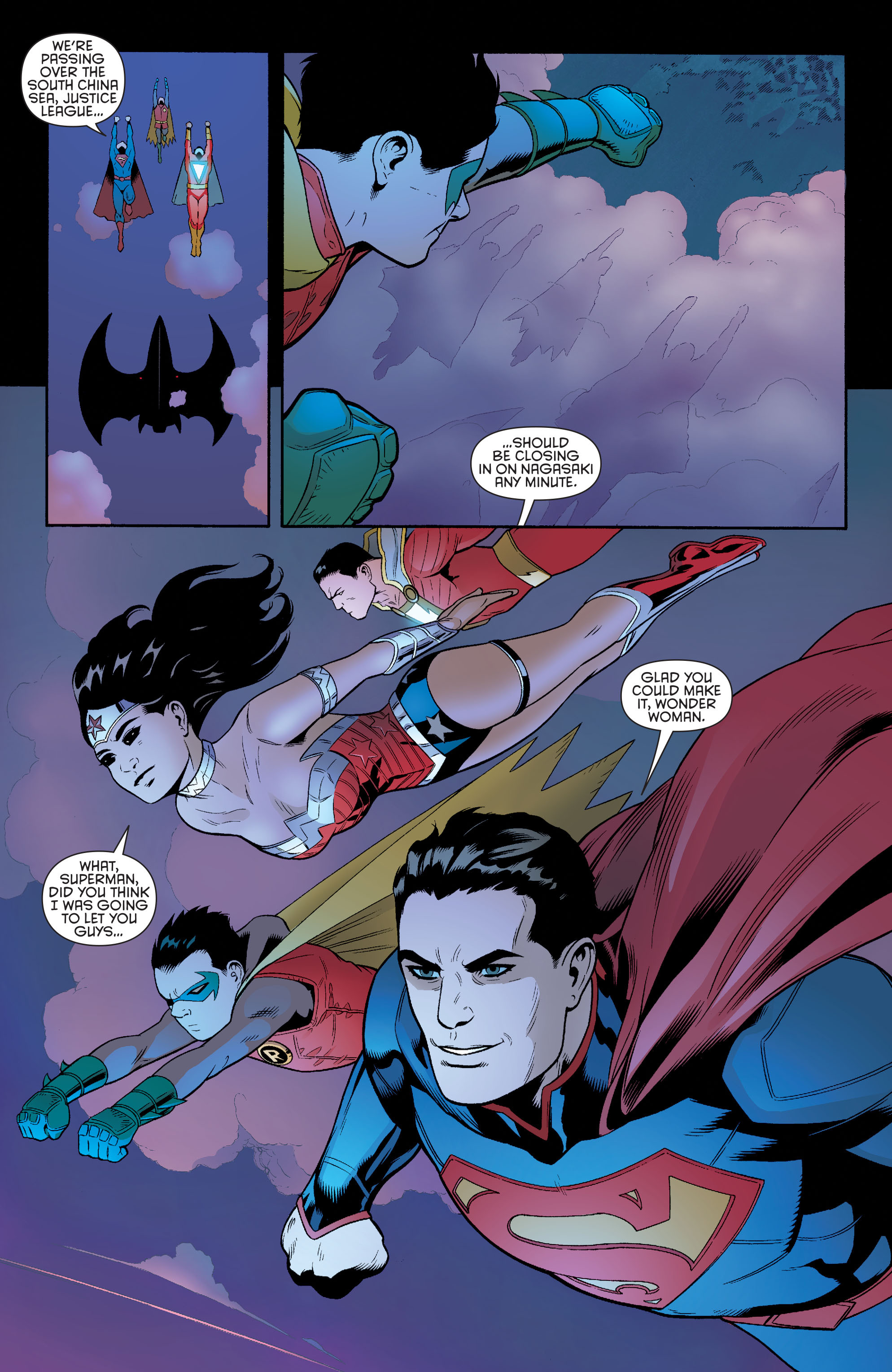 Read online Batman and Robin (2011) comic -  Issue #40 - 2