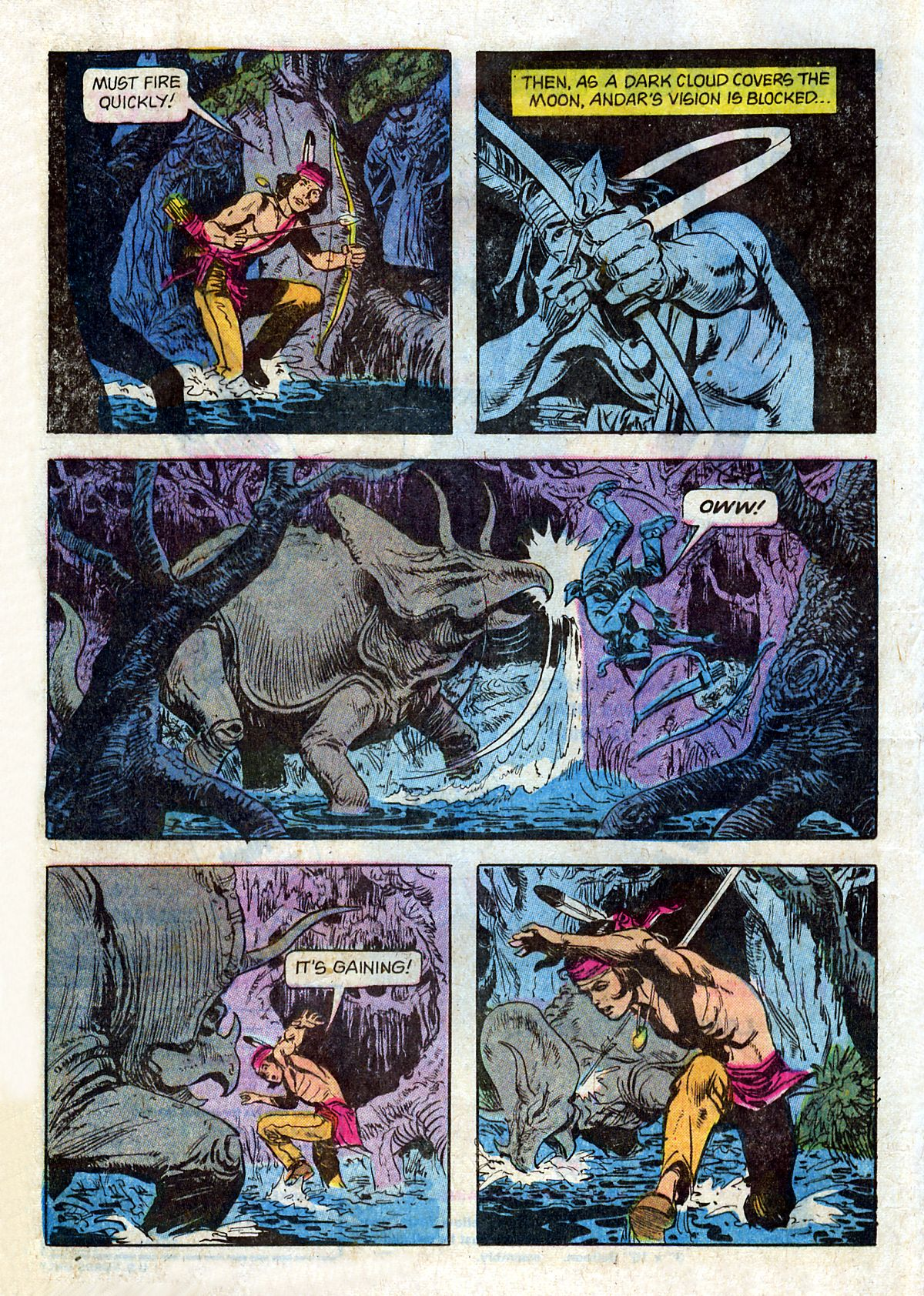 Read online Turok, Son of Stone comic -  Issue #124 - 16