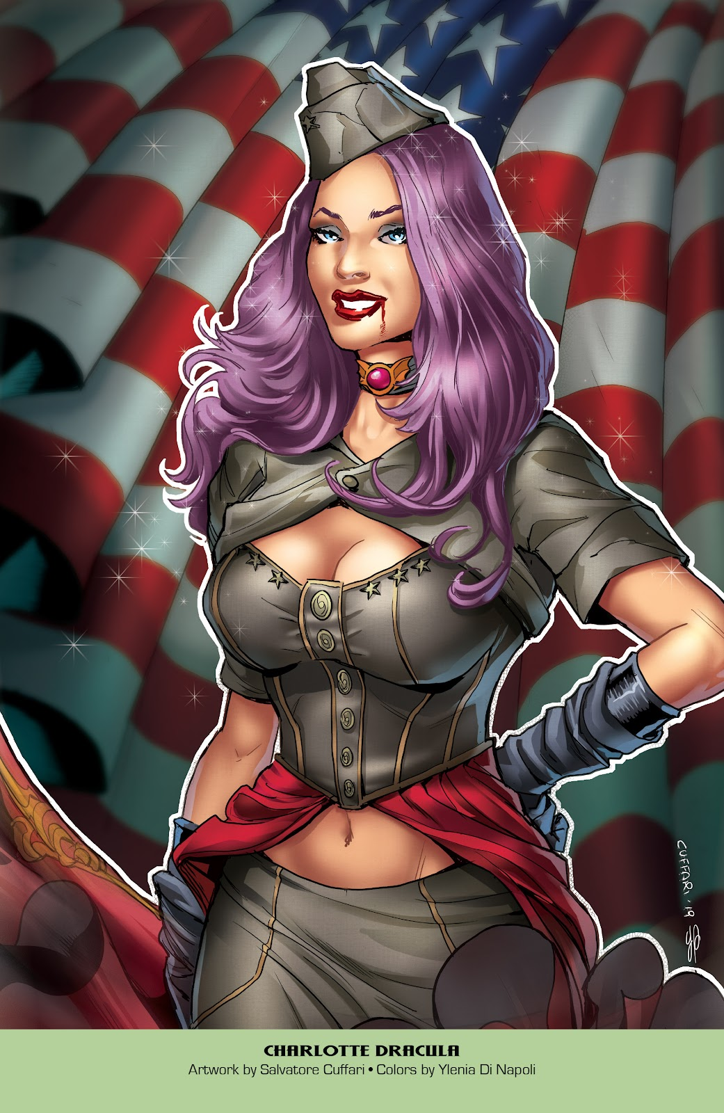 Read online Grimm Fairy Tales: 2019 Armed Forces Edition comic -  Issue # Full - 15