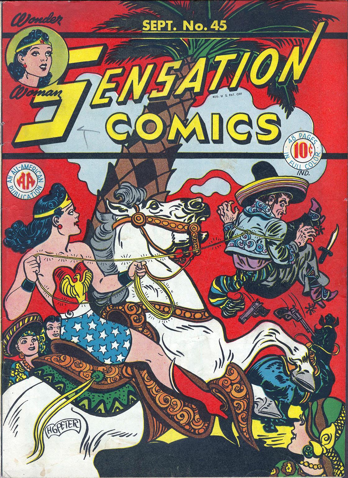 Read online Sensation (Mystery) Comics comic -  Issue #45 - 1