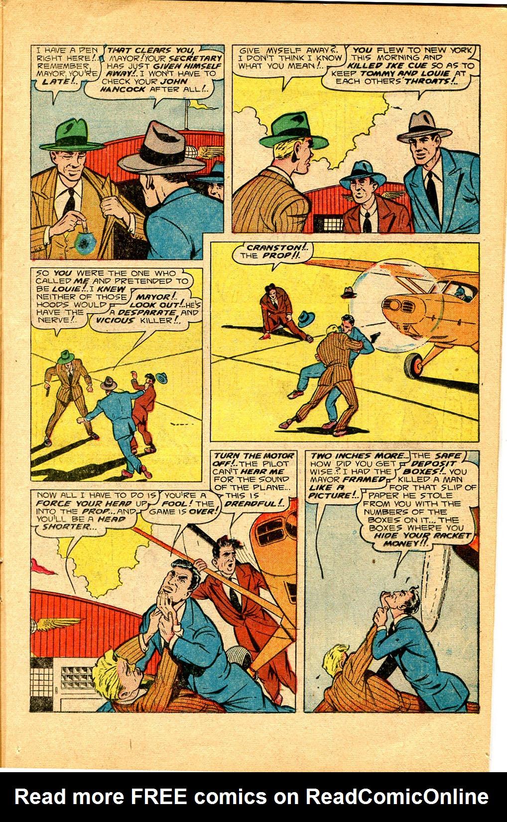 Read online Shadow Comics comic -  Issue #97 - 15