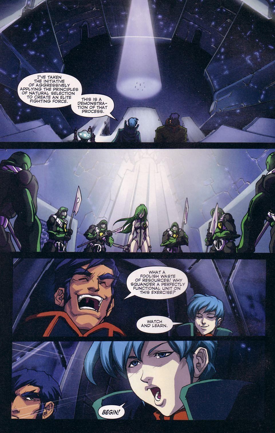 Read online Robotech: Love and War comic -  Issue #2 - 6