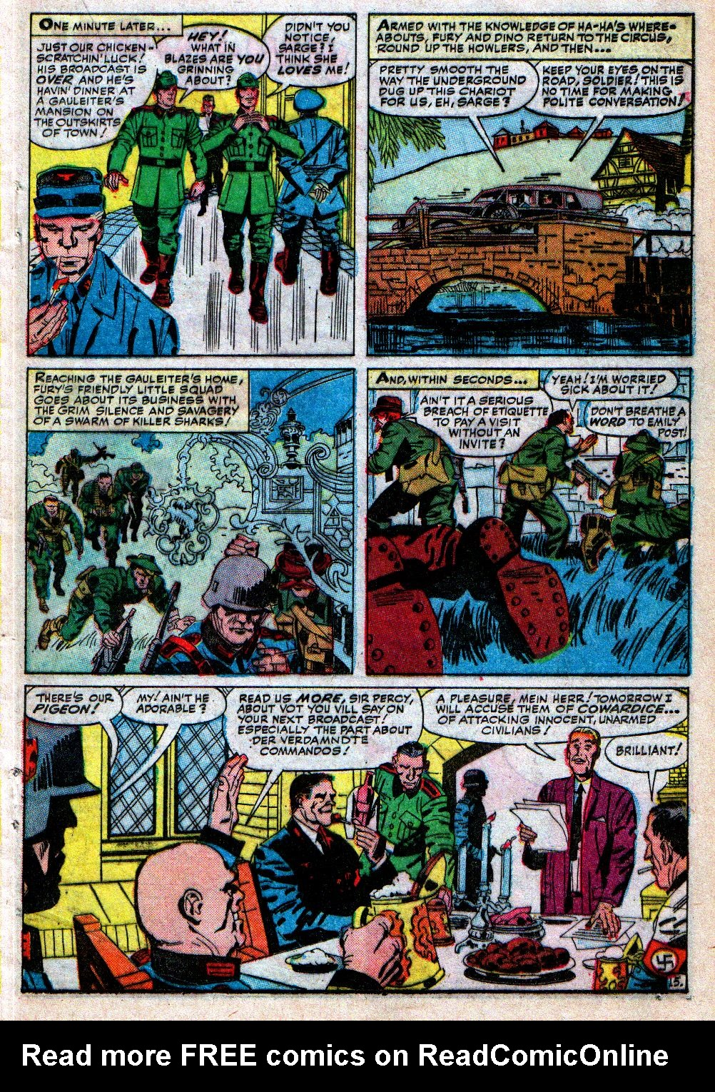 Read online Sgt. Fury comic -  Issue #4 - 21