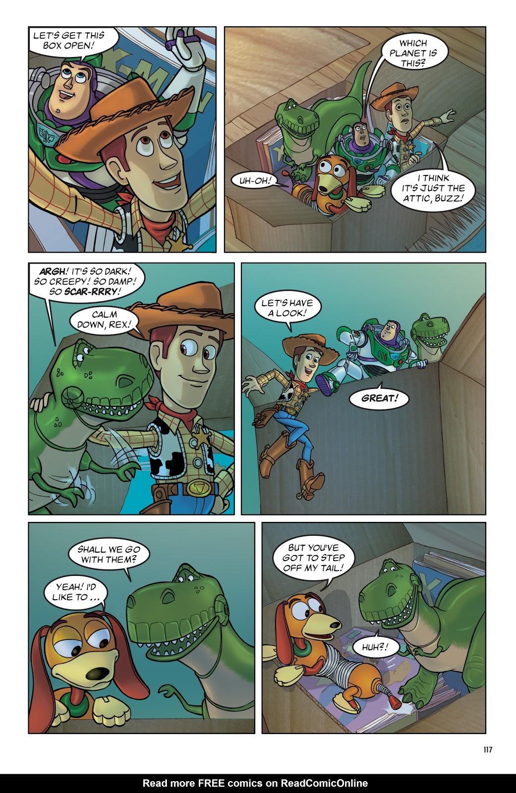 Read online DISNEY·PIXAR Toy Story Adventures comic -  Issue # TPB 1 (Part 2) - 17