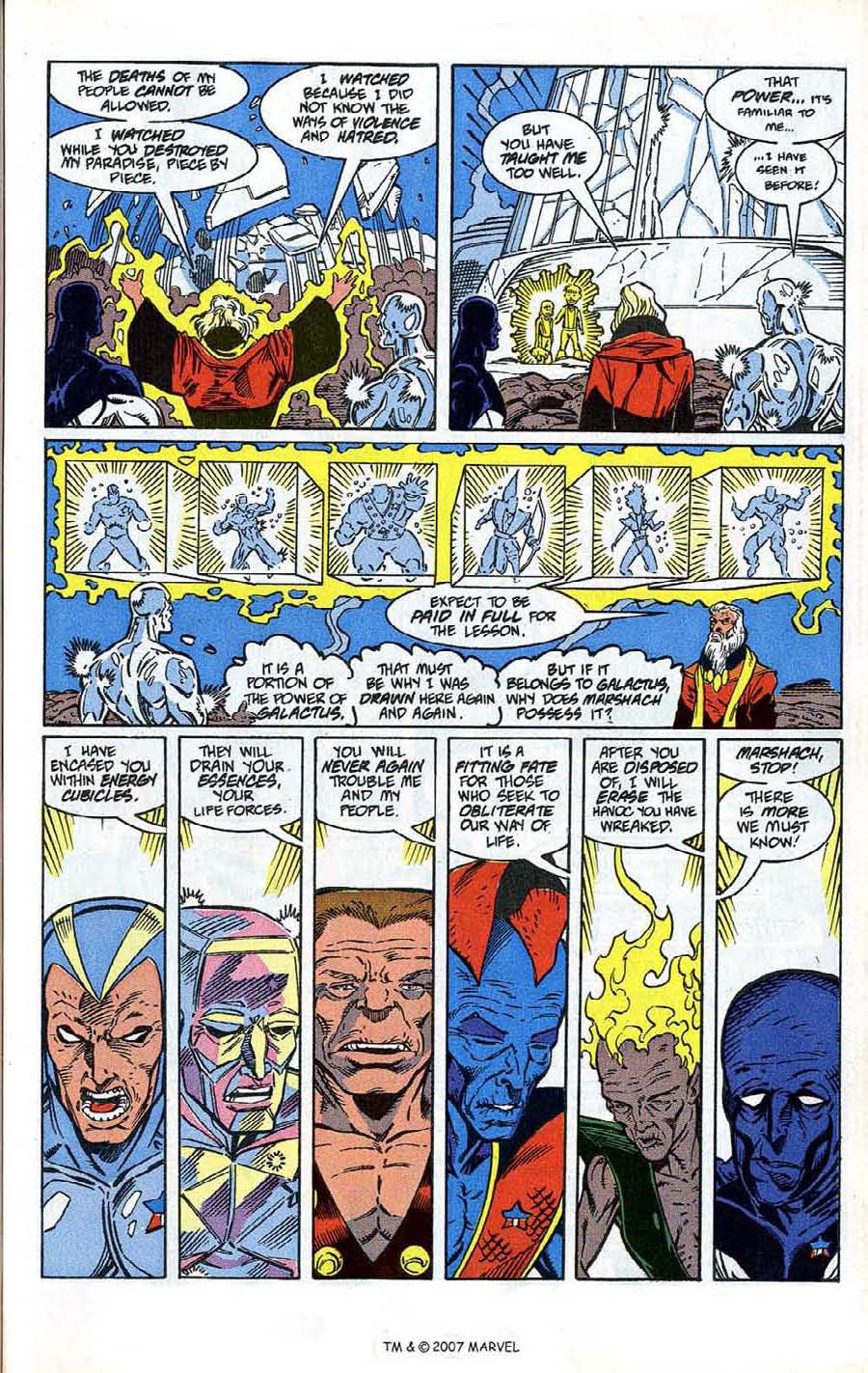 Read online Silver Surfer (1987) comic -  Issue # _Annual 4 - 35