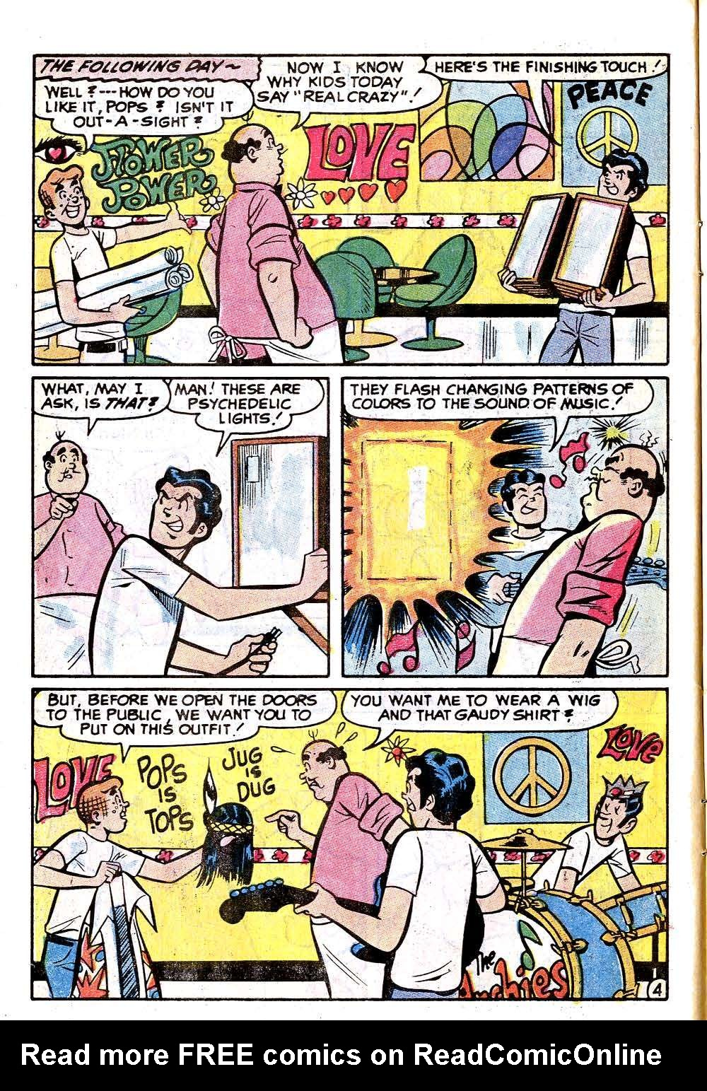 Read online Archie (1960) comic -  Issue #215 - 6