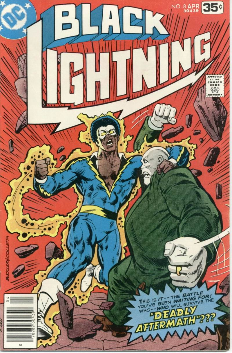 Black Lightning (1977) issue 8 - Page 1