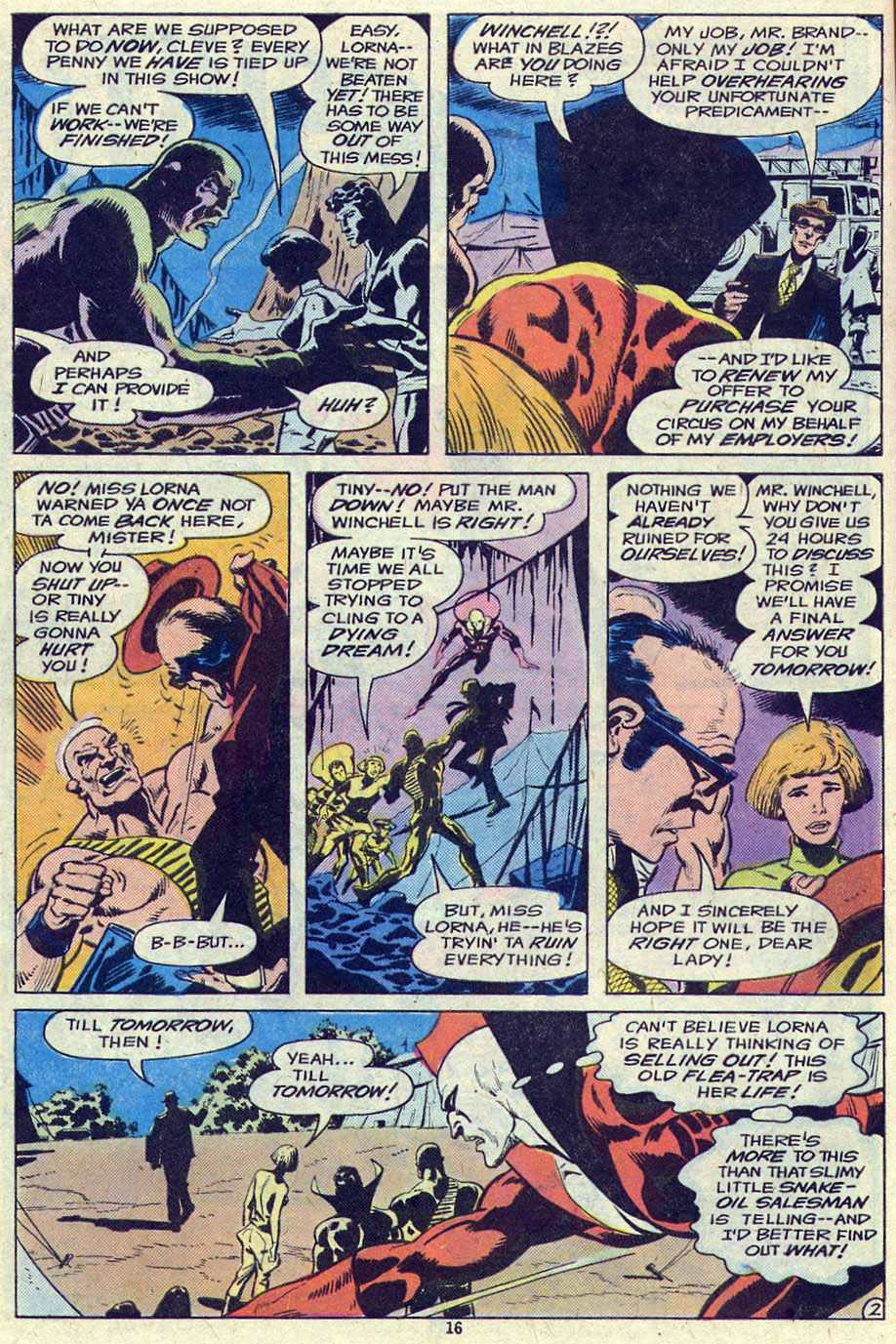 Read online Adventure Comics (1938) comic -  Issue #461 - 16