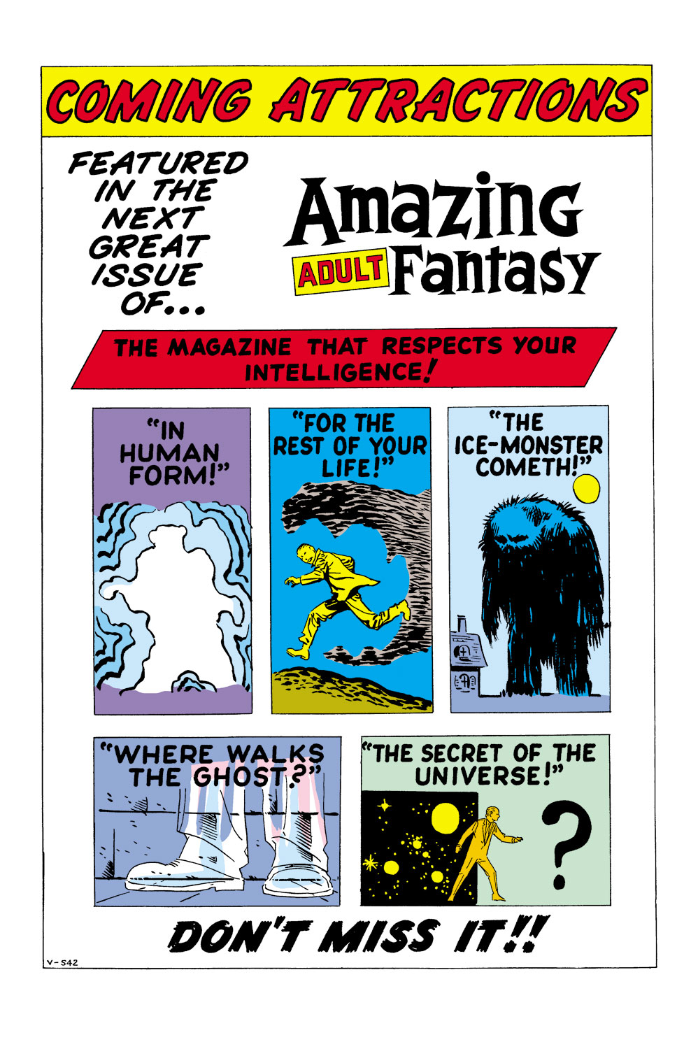 Read online Amazing Adult Fantasy comic -  Issue #10 - 21