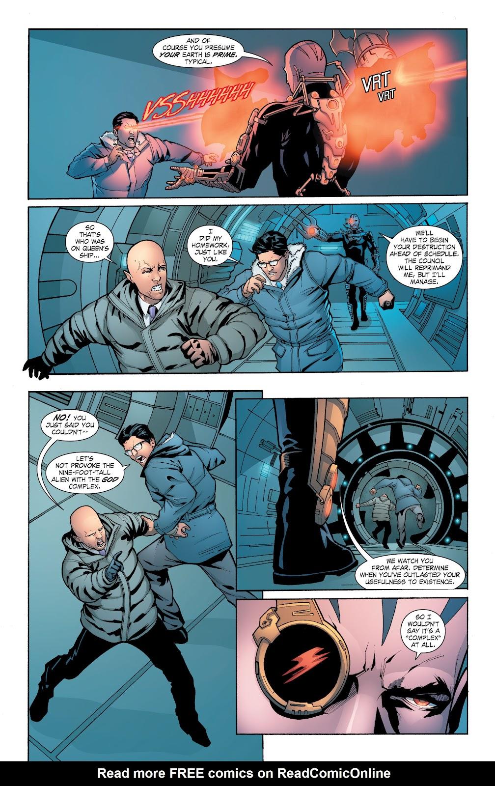 Read online Smallville Season 11 [II] comic -  Issue # TPB 6 - 138