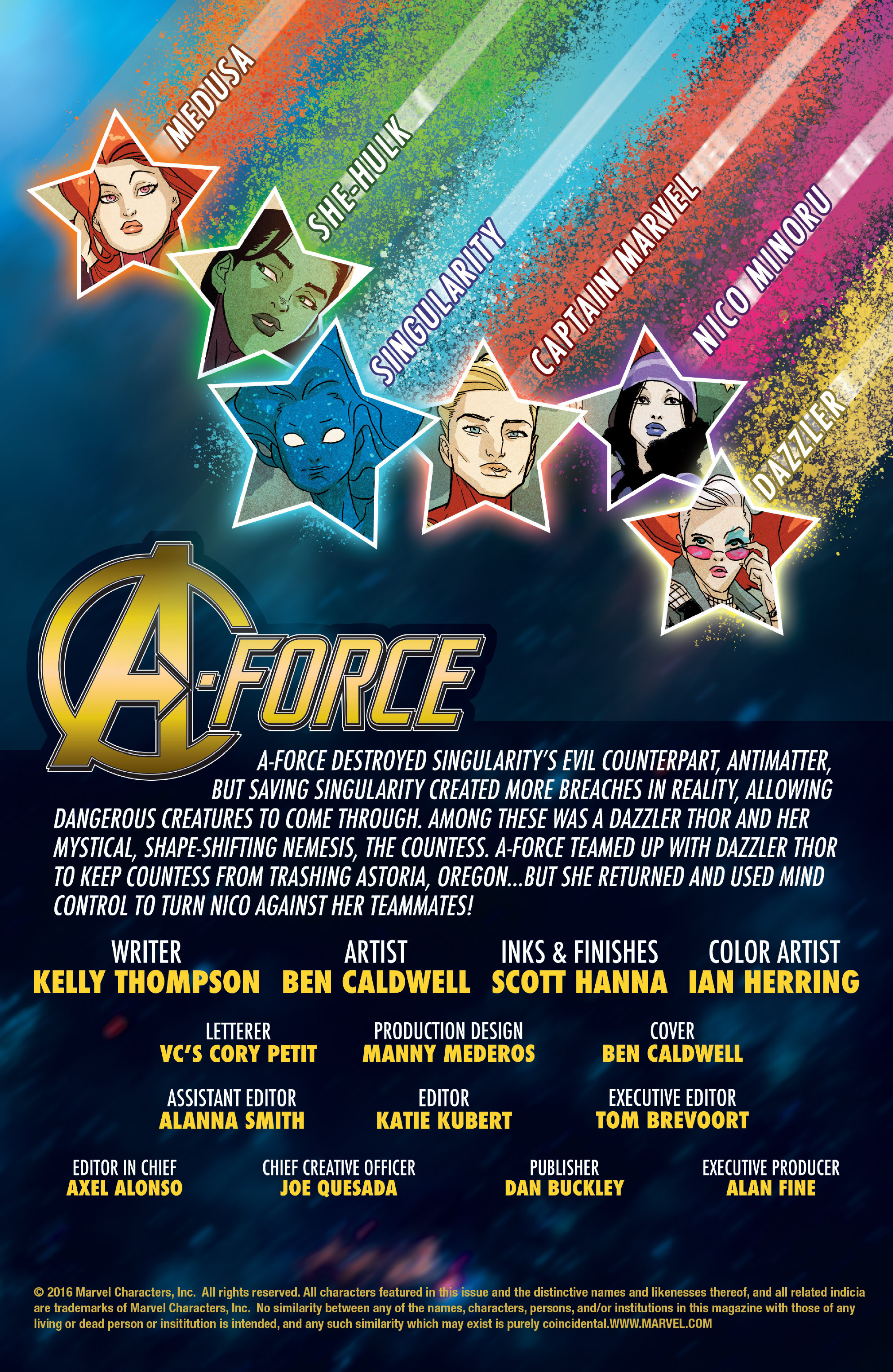 Read online A-Force (2016) comic -  Issue #6 - 2