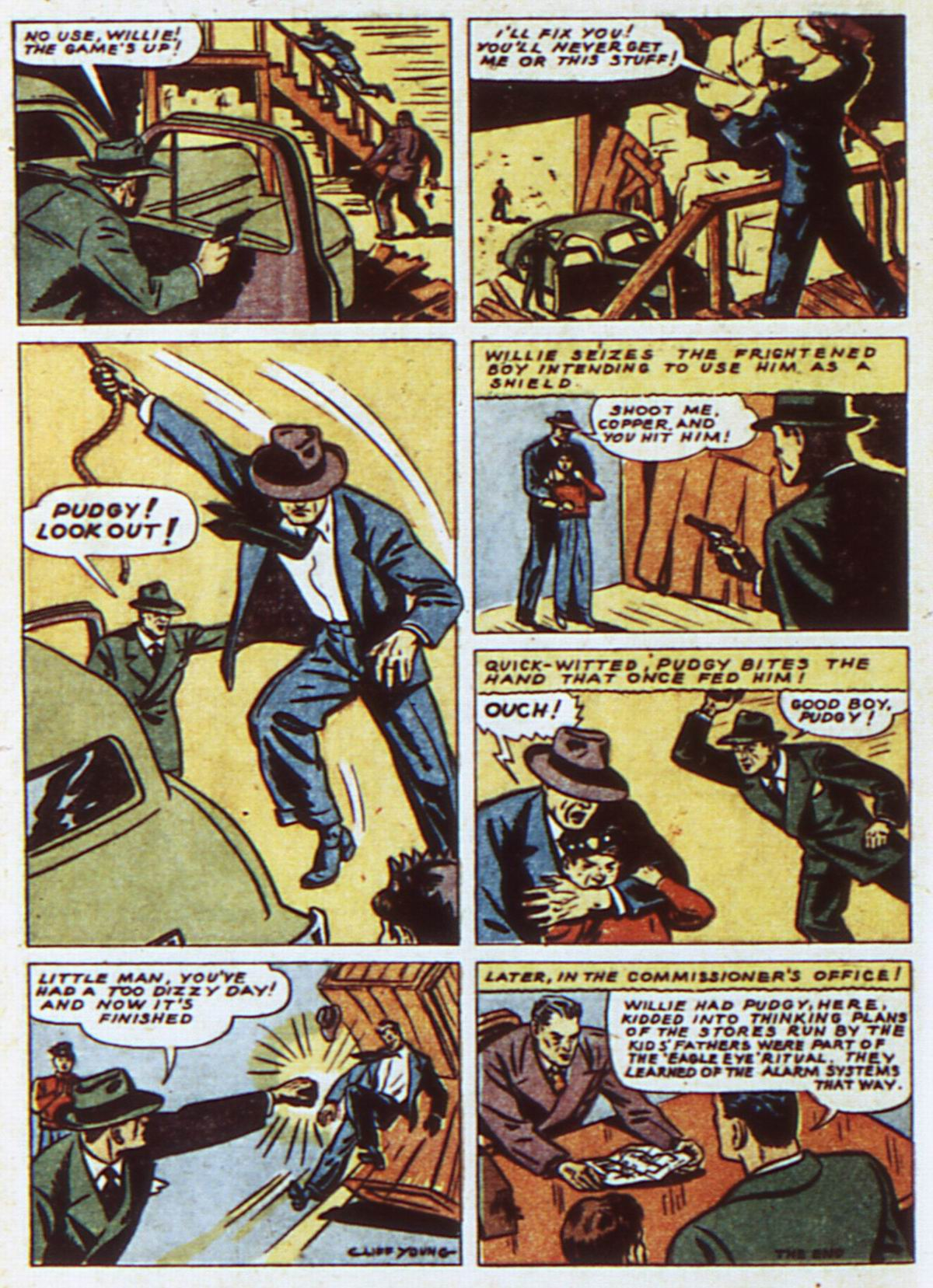 Read online Detective Comics (1937) comic -  Issue #52 - 36