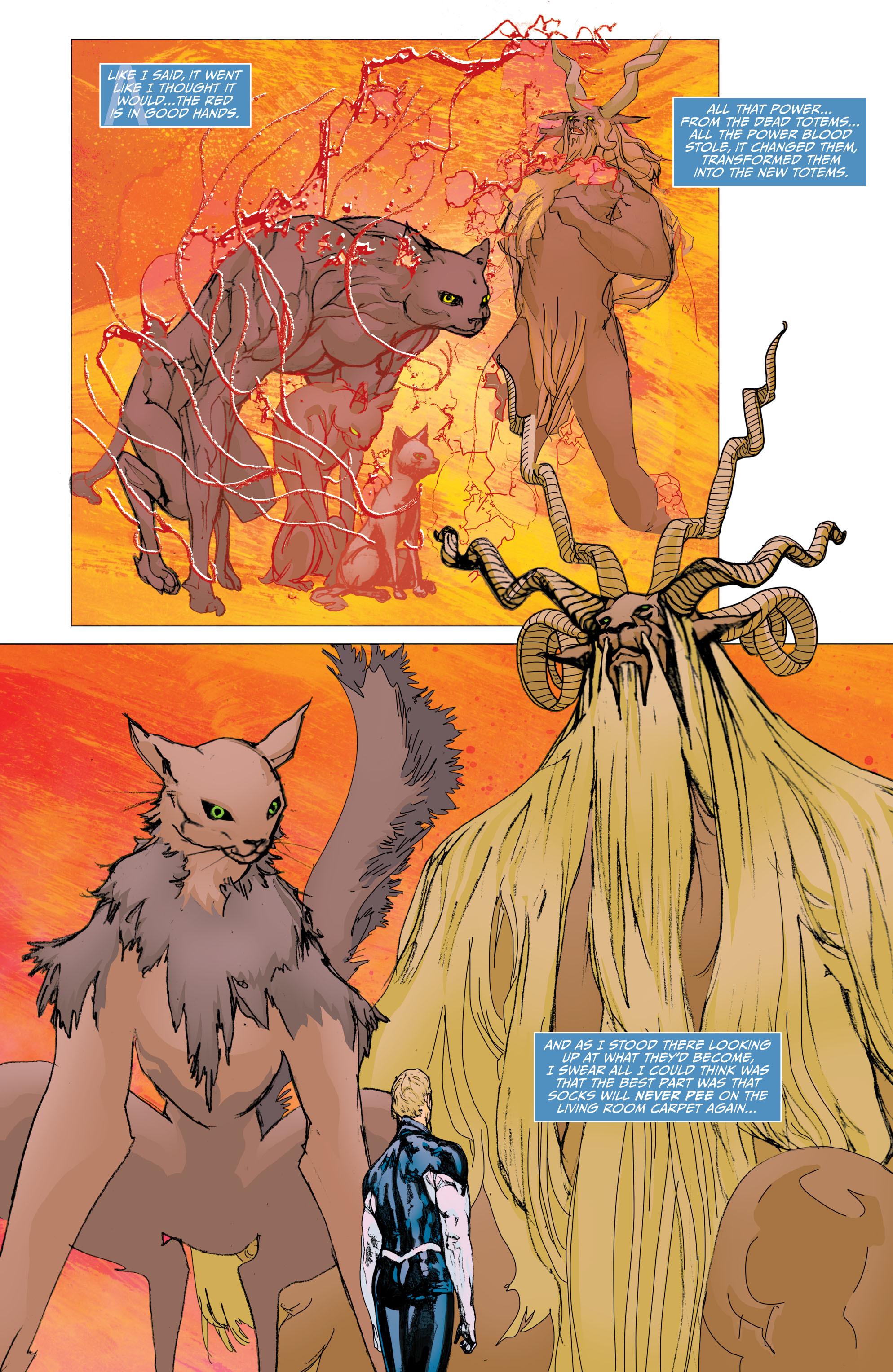 Read online Animal Man (2011) comic -  Issue #29 - 4