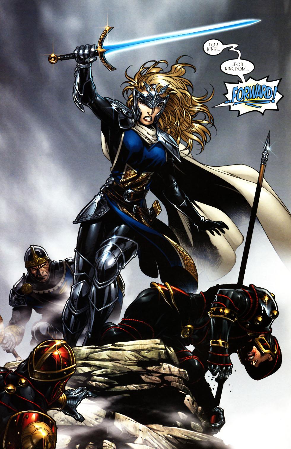 Read online Scion comic -  Issue #11 - 4