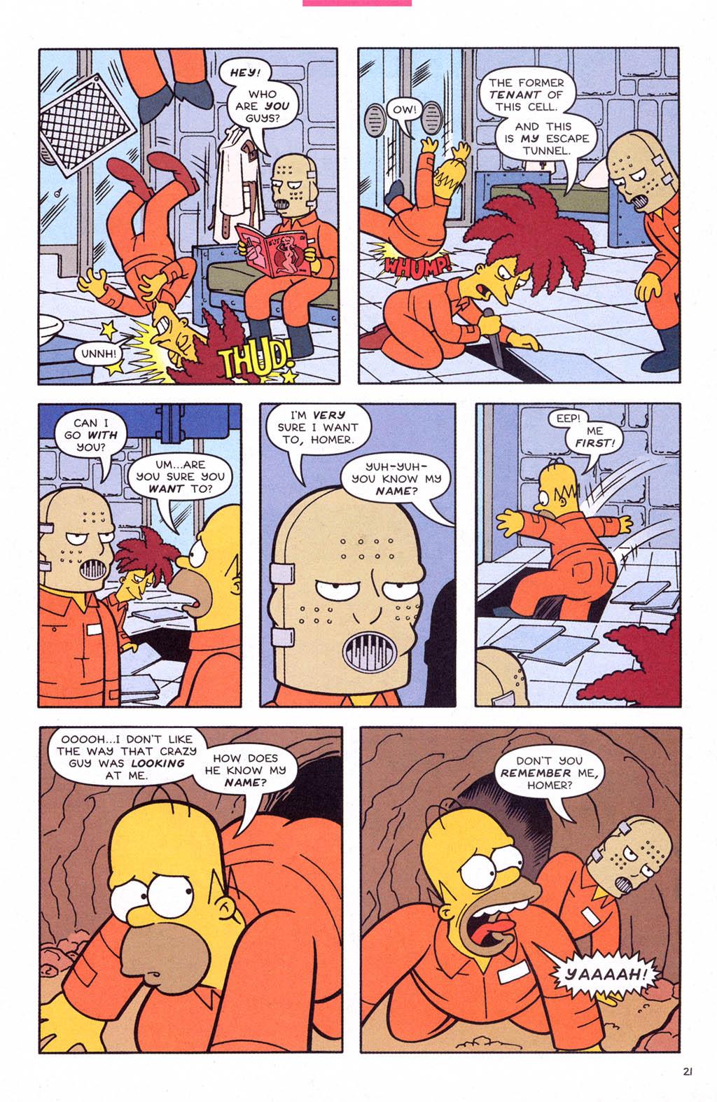 Read online Simpsons Comics comic -  Issue #108 - 22